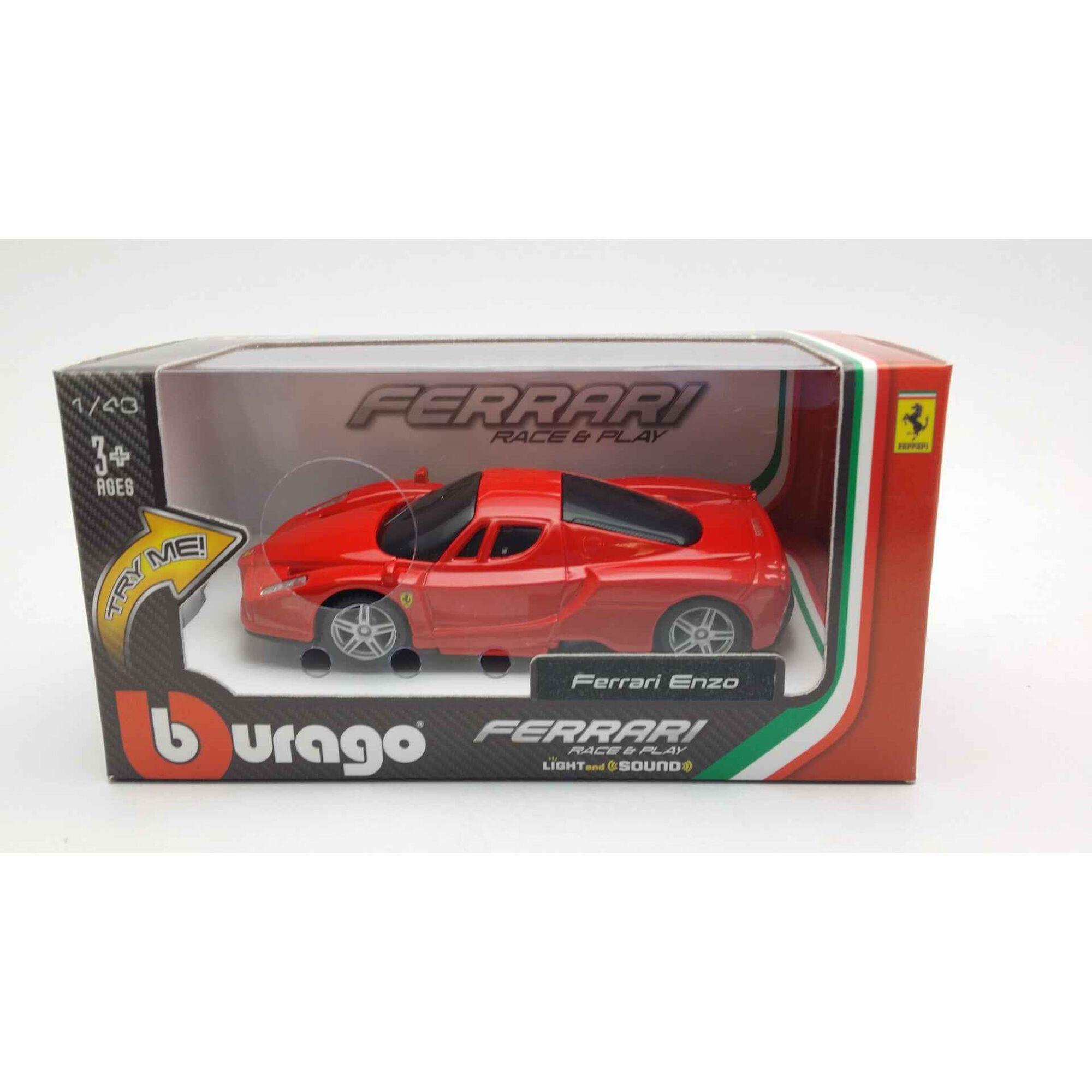 Ferrari com Luz e Som