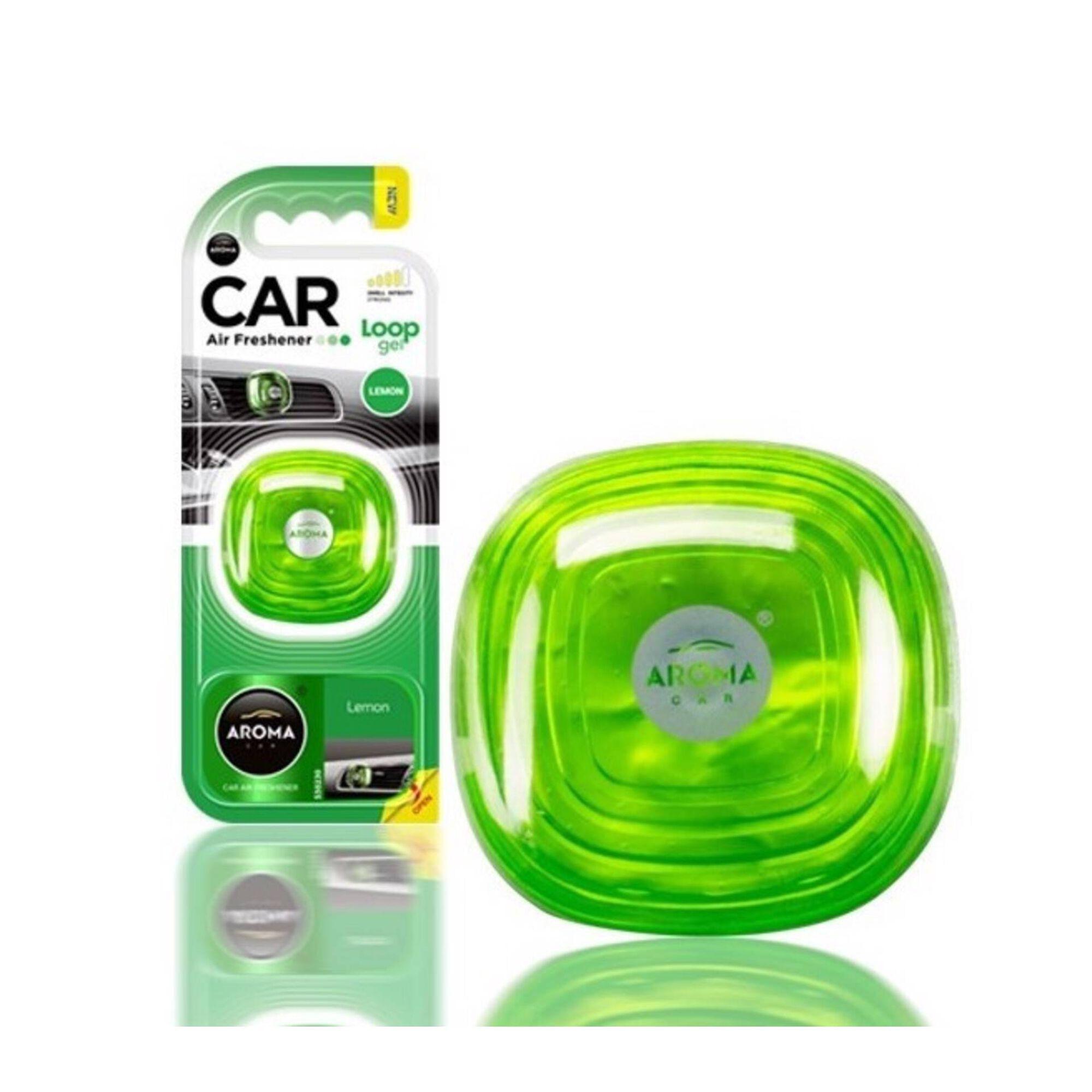 Ambientador Auto Ventilador Gel Limão