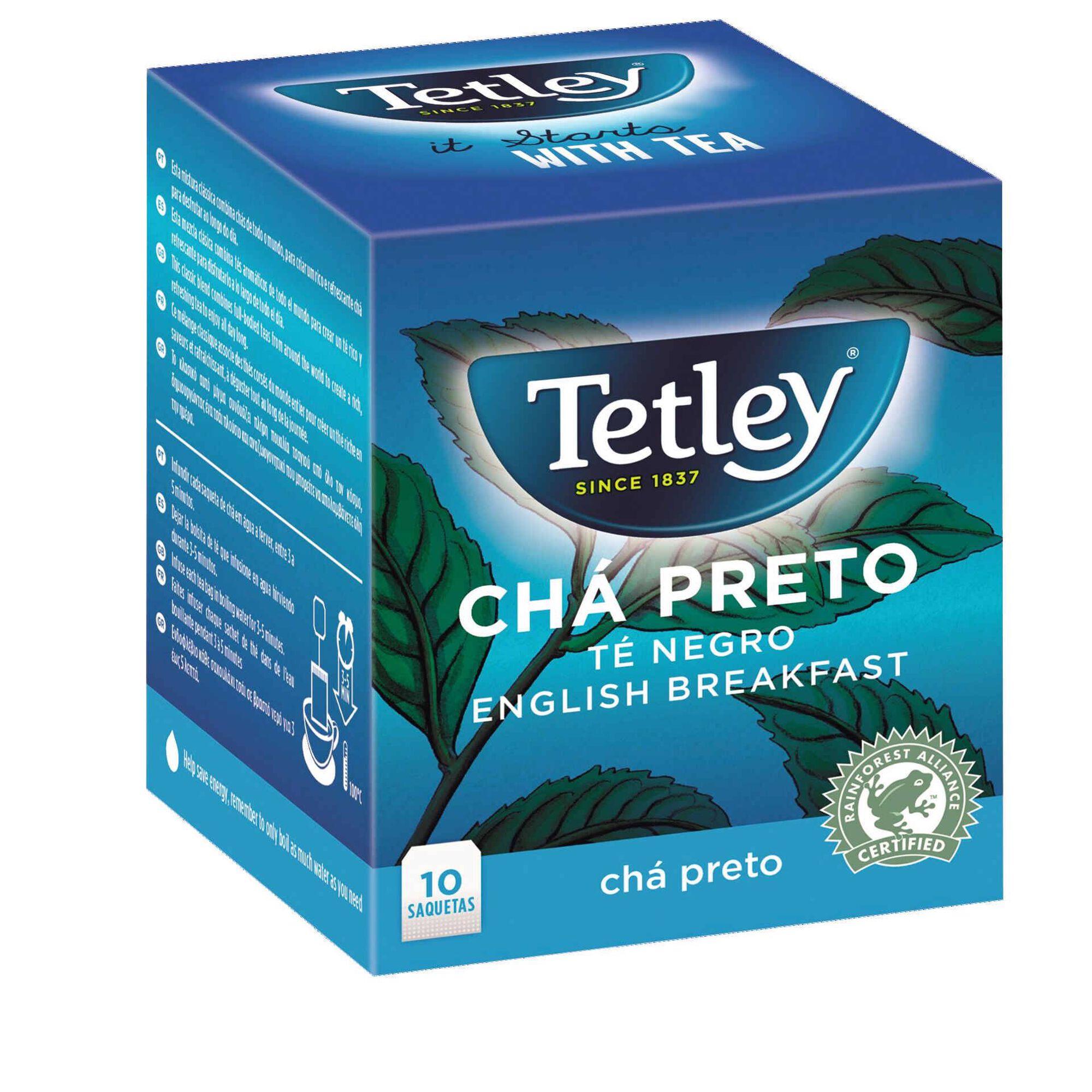 Chá Preto Saquetas