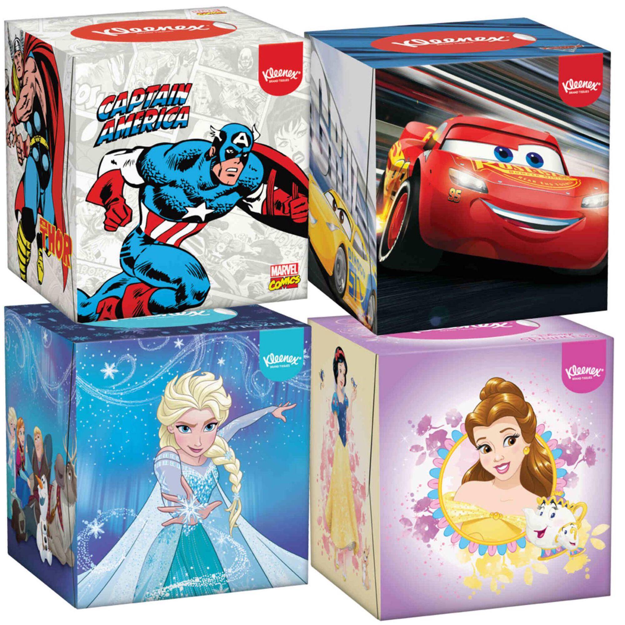 Lenços Faciais Disney Cubo
