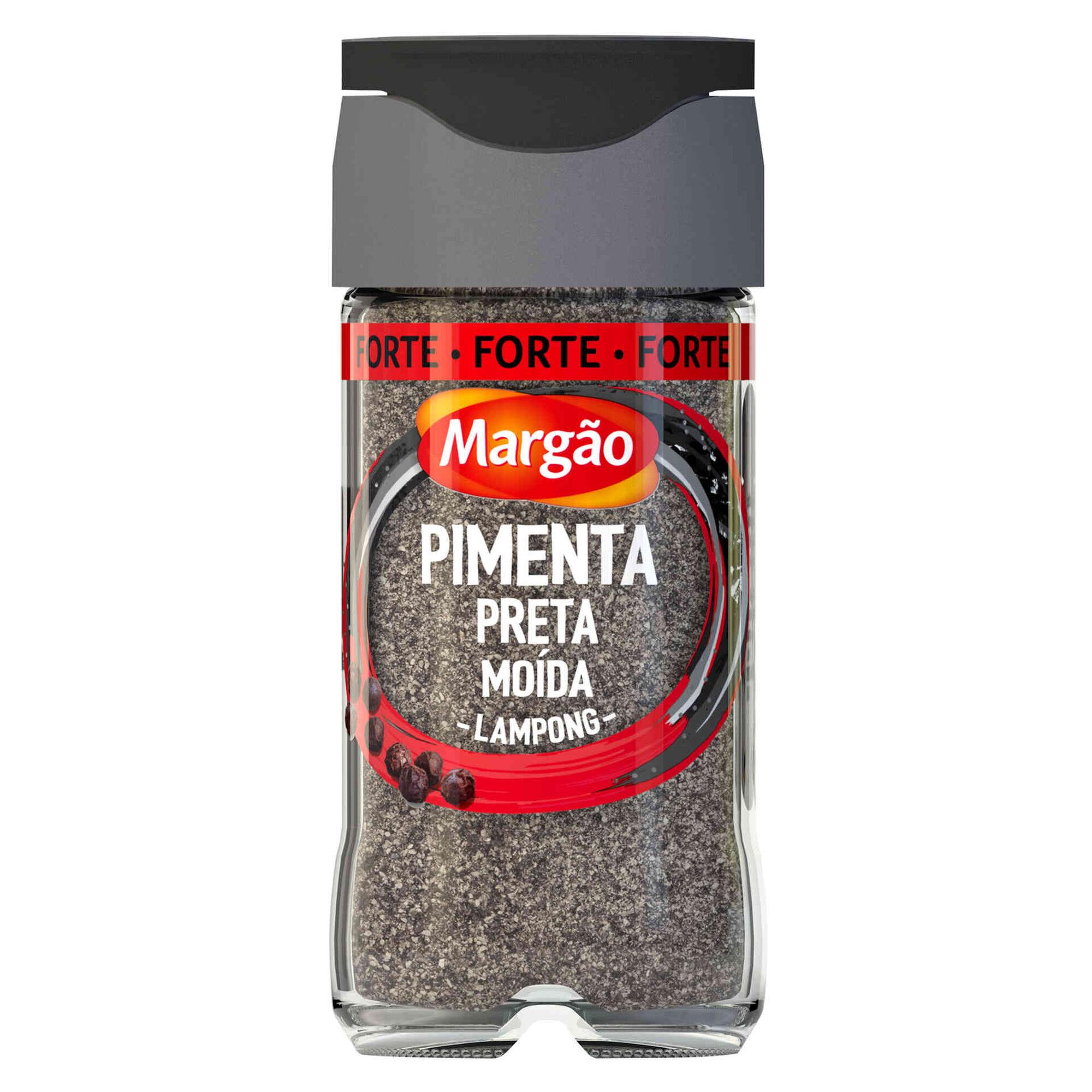 Pimenta Preta Moída Lampong em Frasco