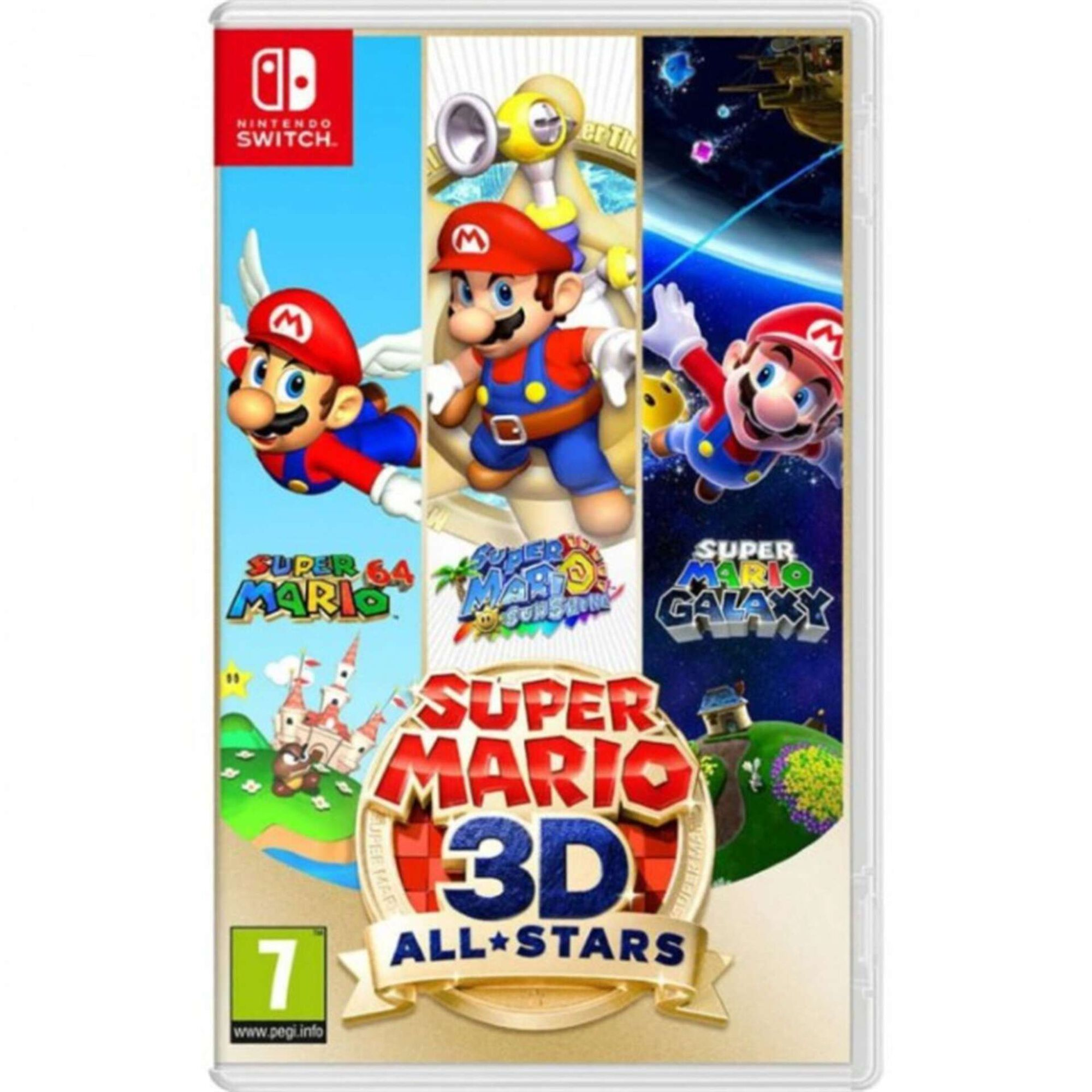 Jogo Nintendo Switch Super Mario 3D All-Stars