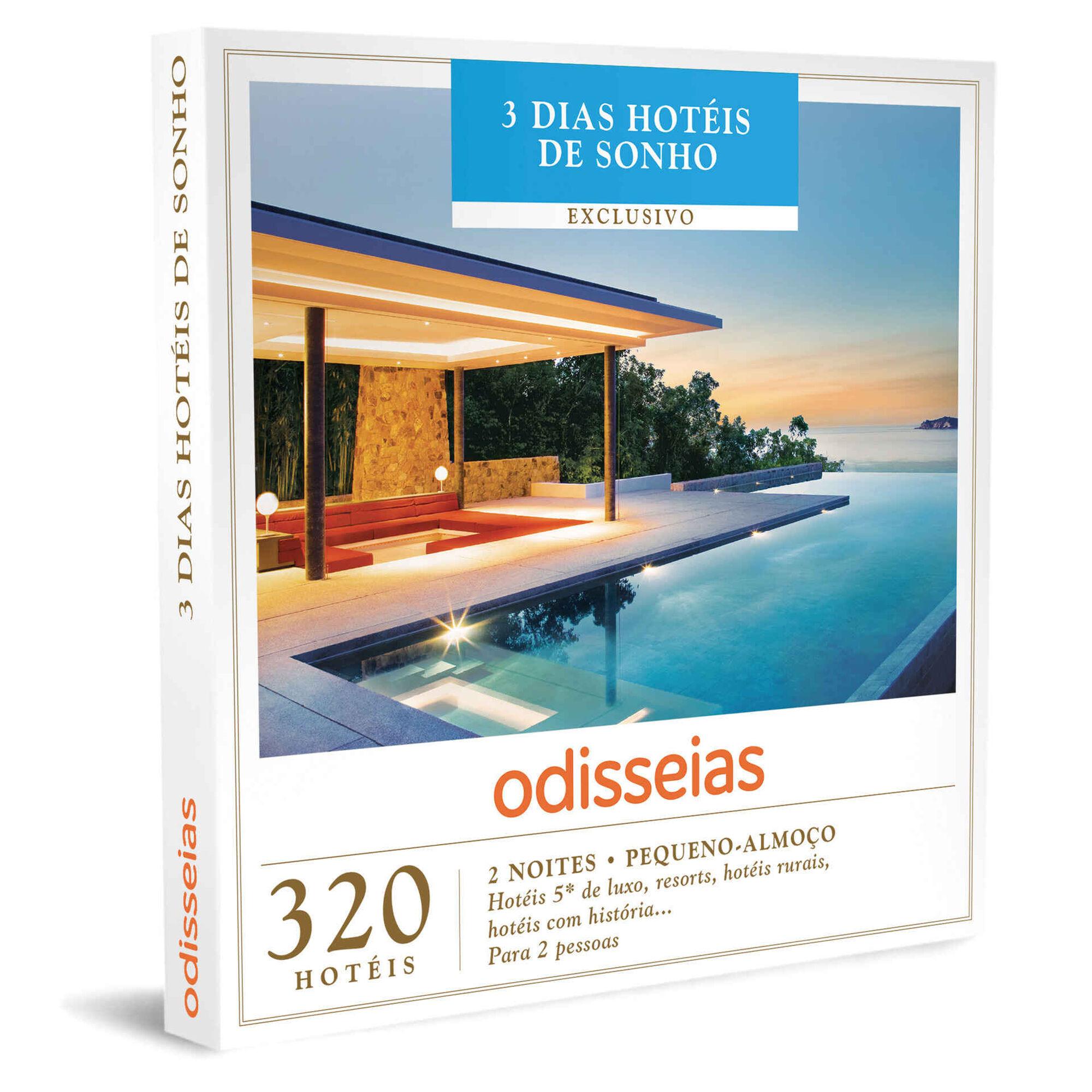 3 Dias Hotéis de Sonho