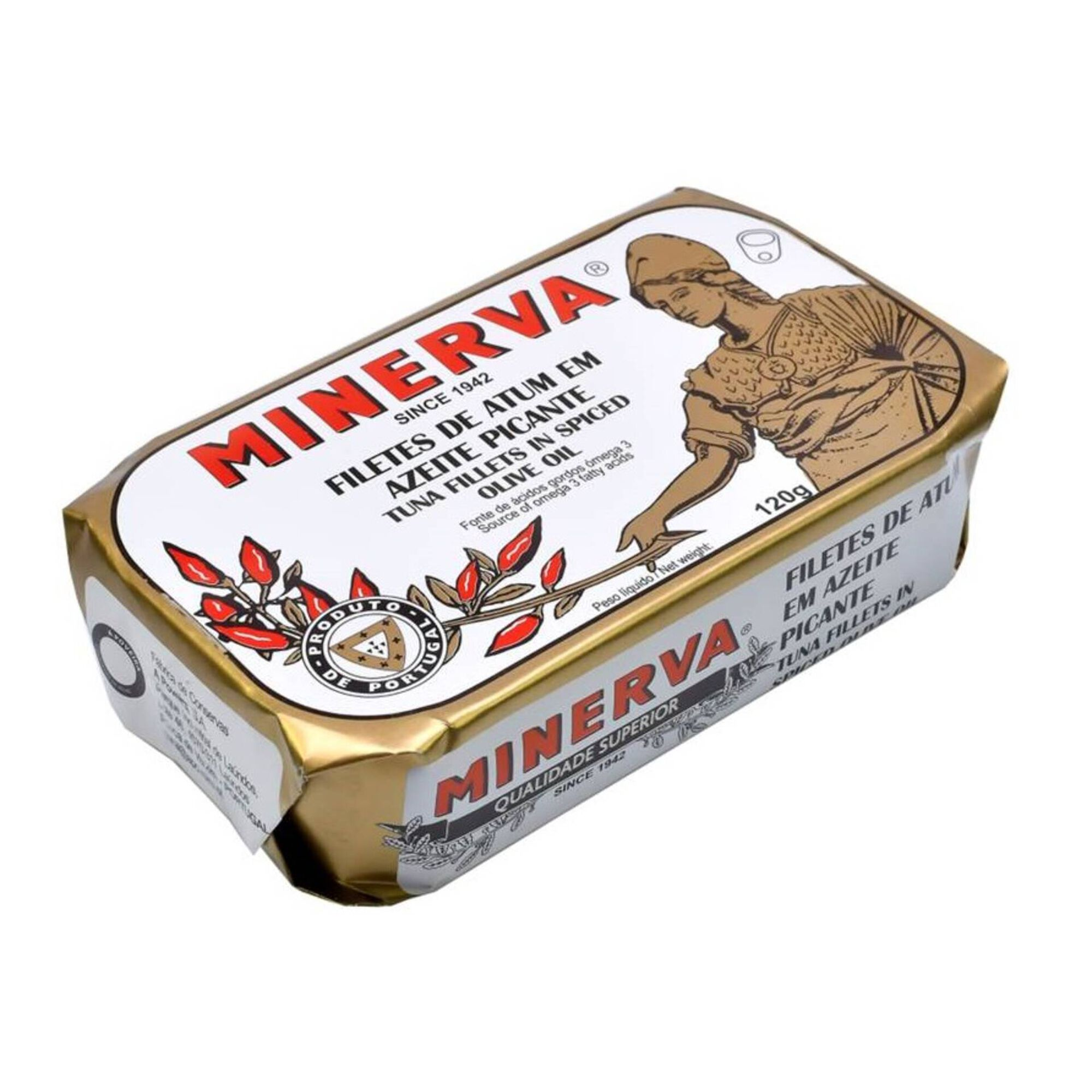 Filetes de Atum em Azeite com Malagueta