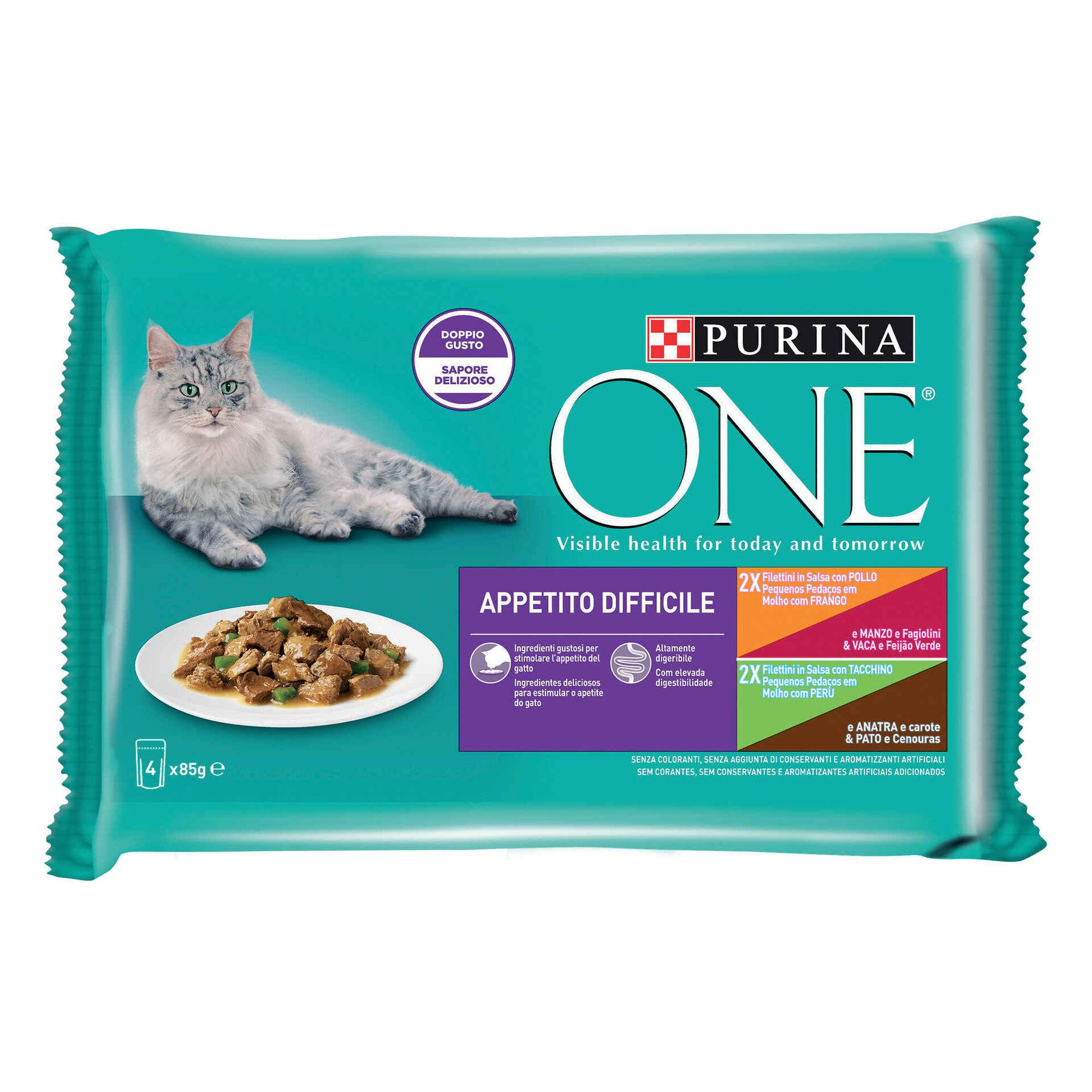Comida Húmida para Gato Apetite Dificil