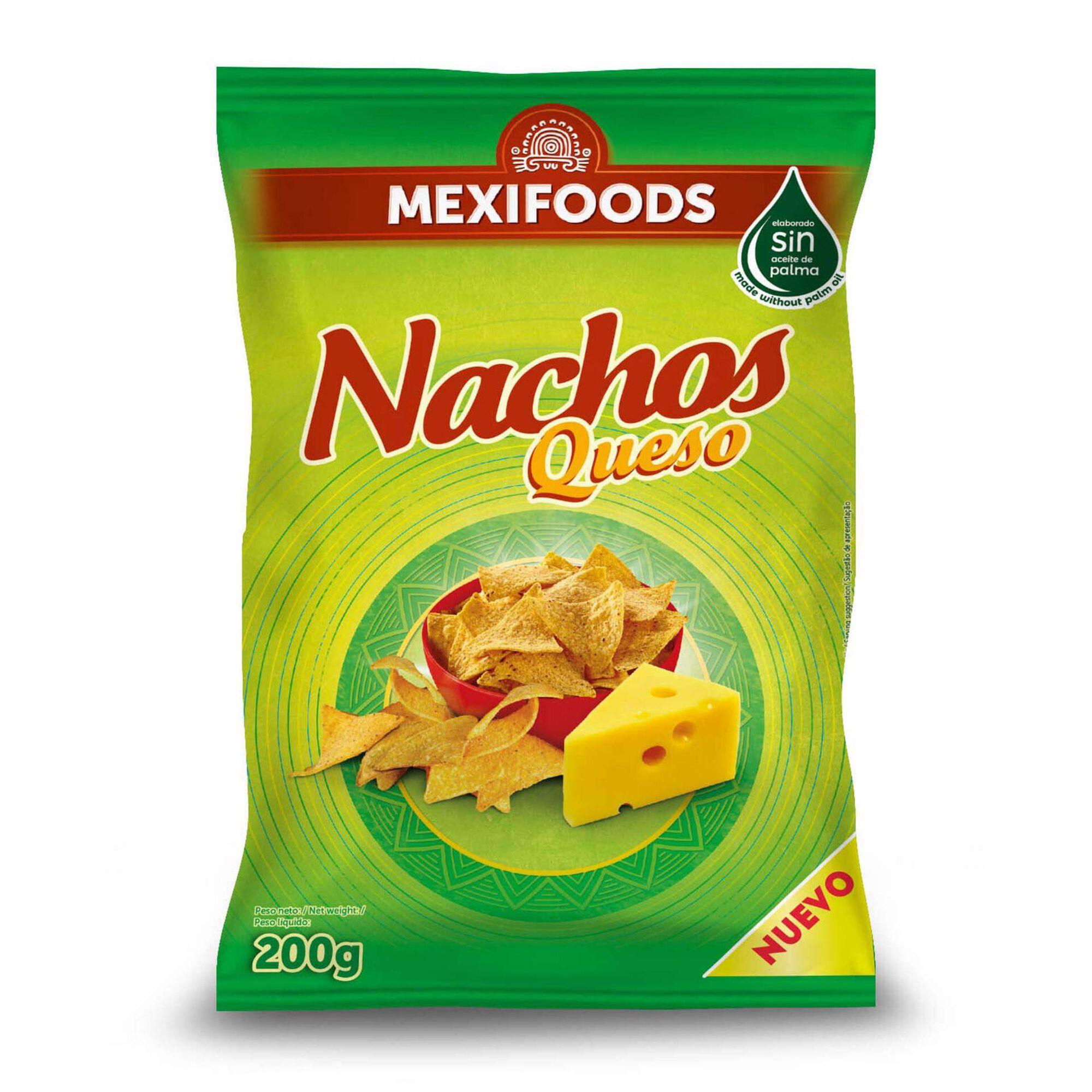 Snacks Tortilha Nachos com Queijo