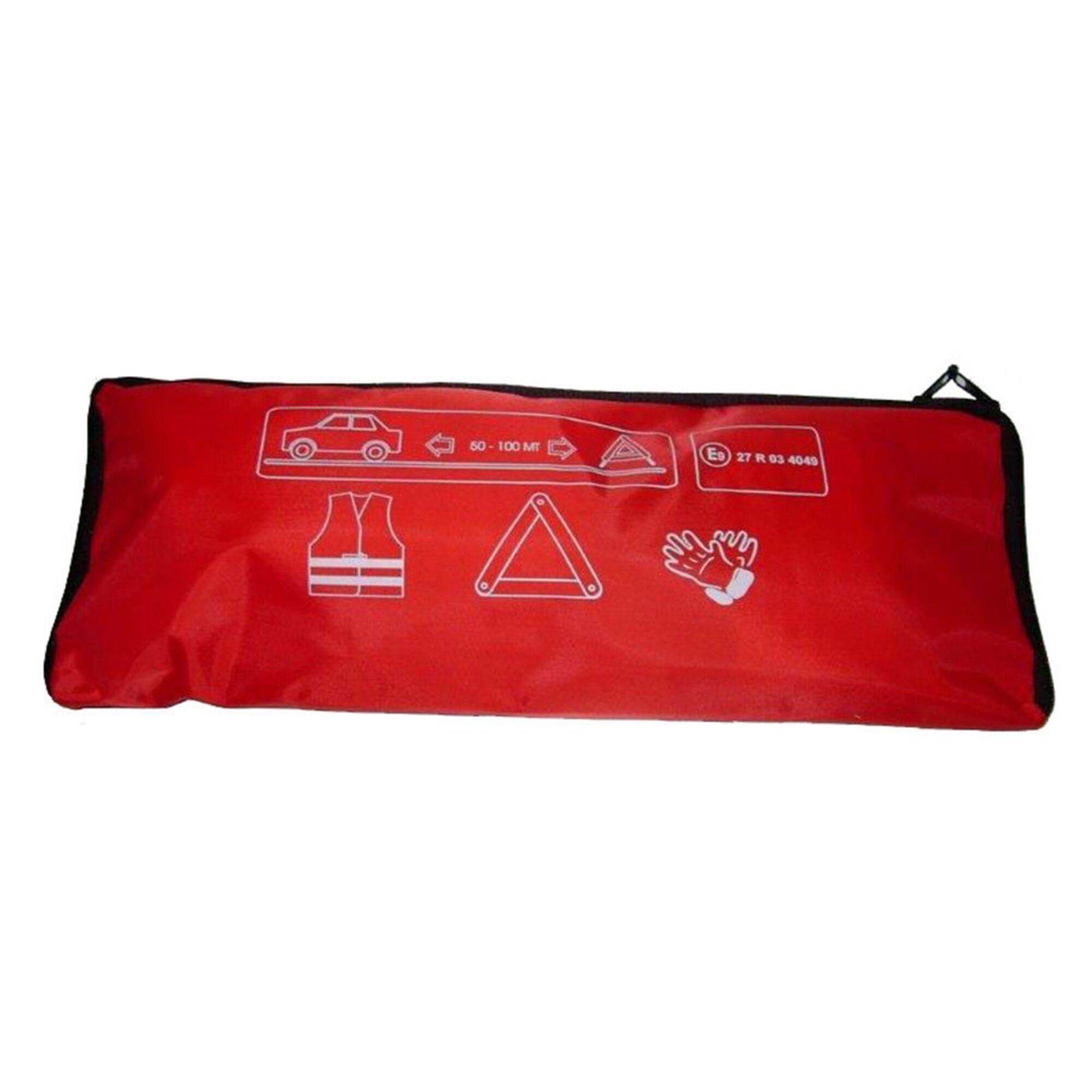 Conjunto Colete, Luvas e Triângulo Emergência
