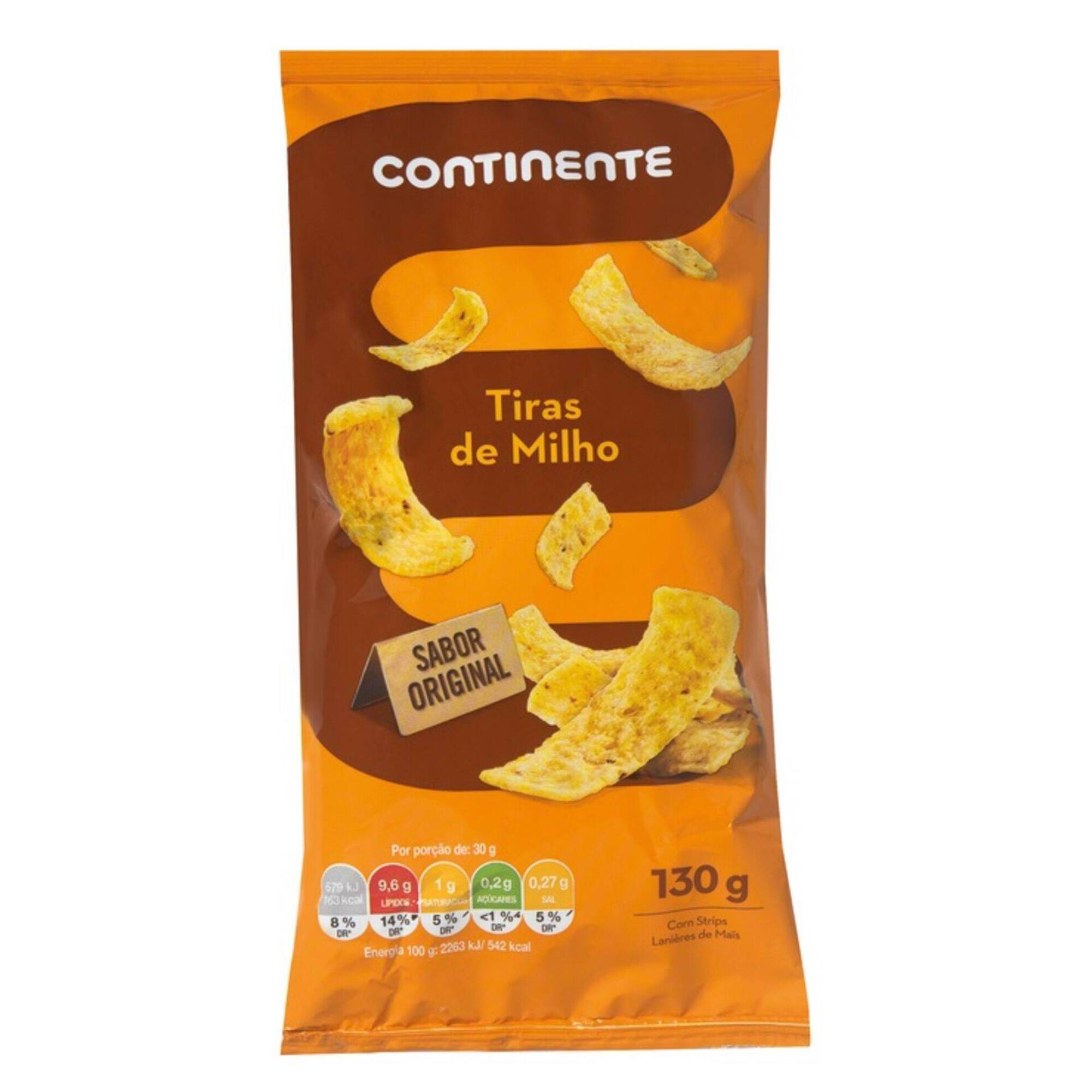 Snacks Tiras de Milho