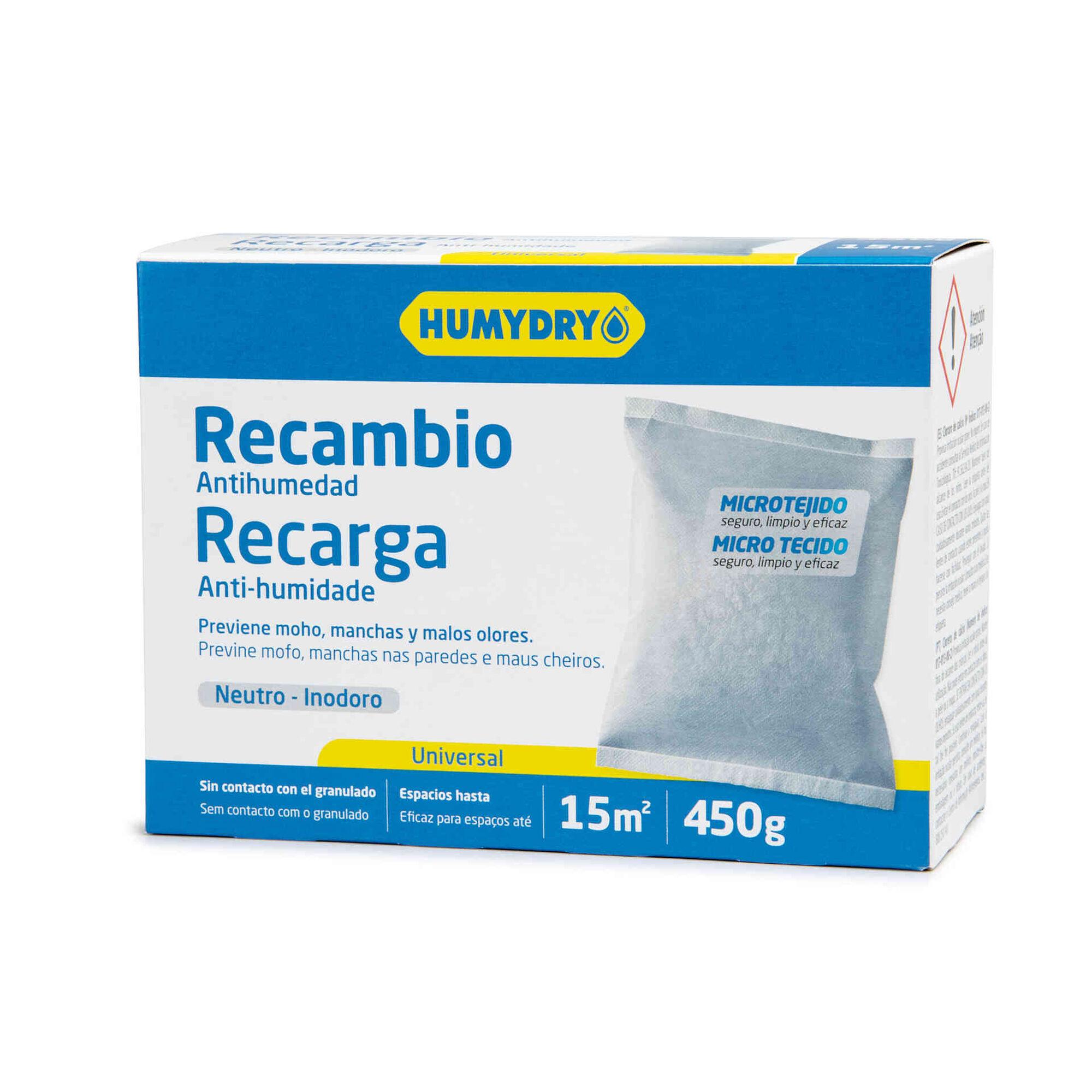 Recarga Desumidificador Inodora 450g