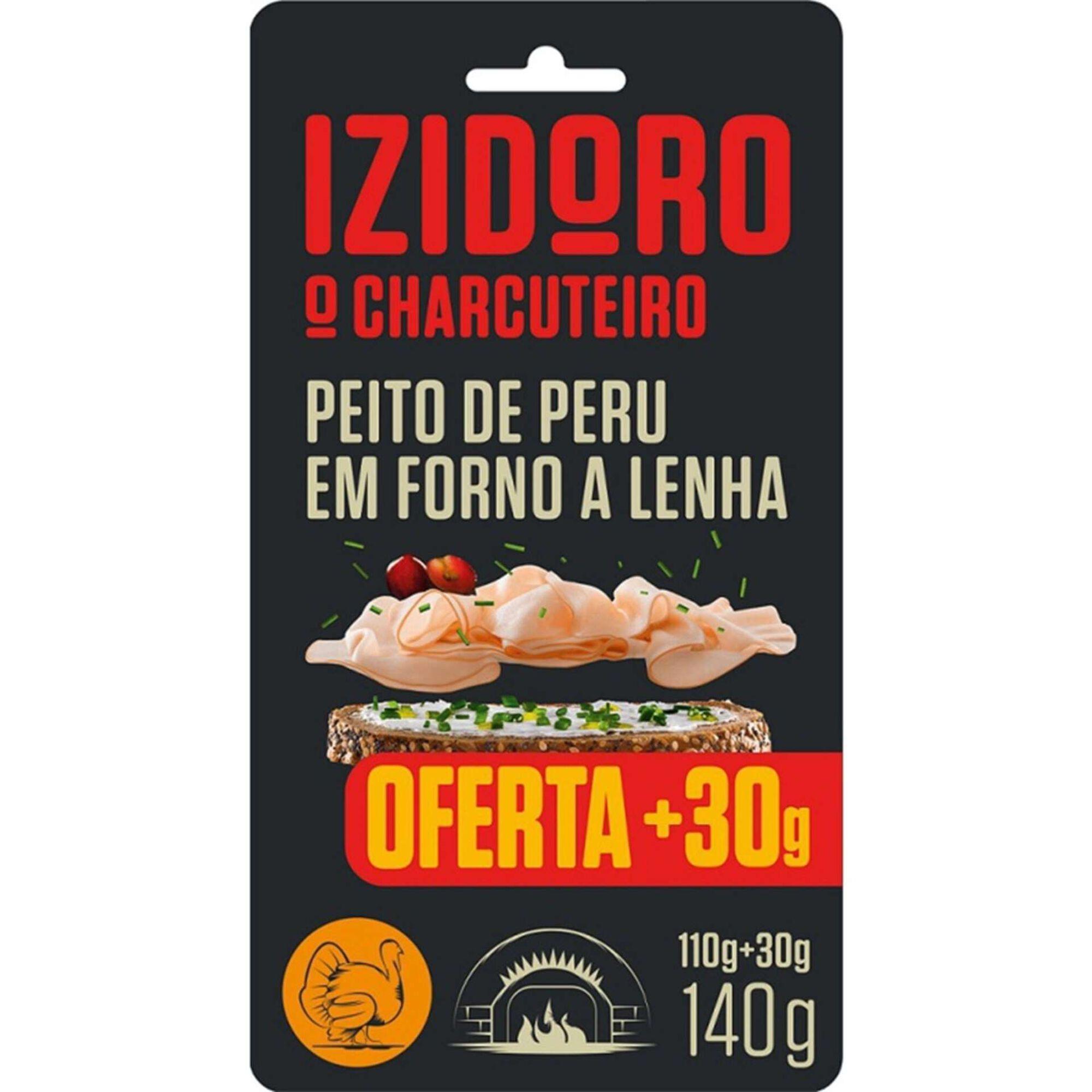 Fiambre Peito de Peru Forno a Lenha