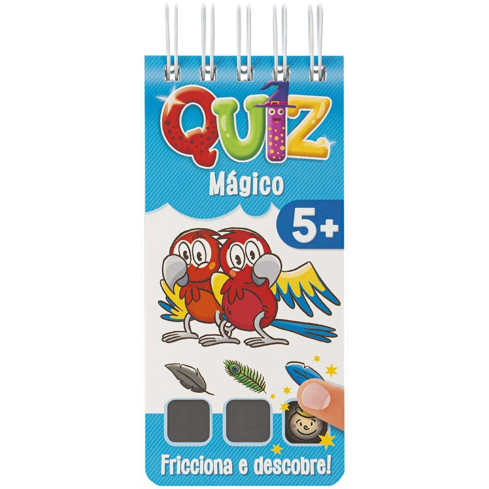 Quiz Mágico 5+