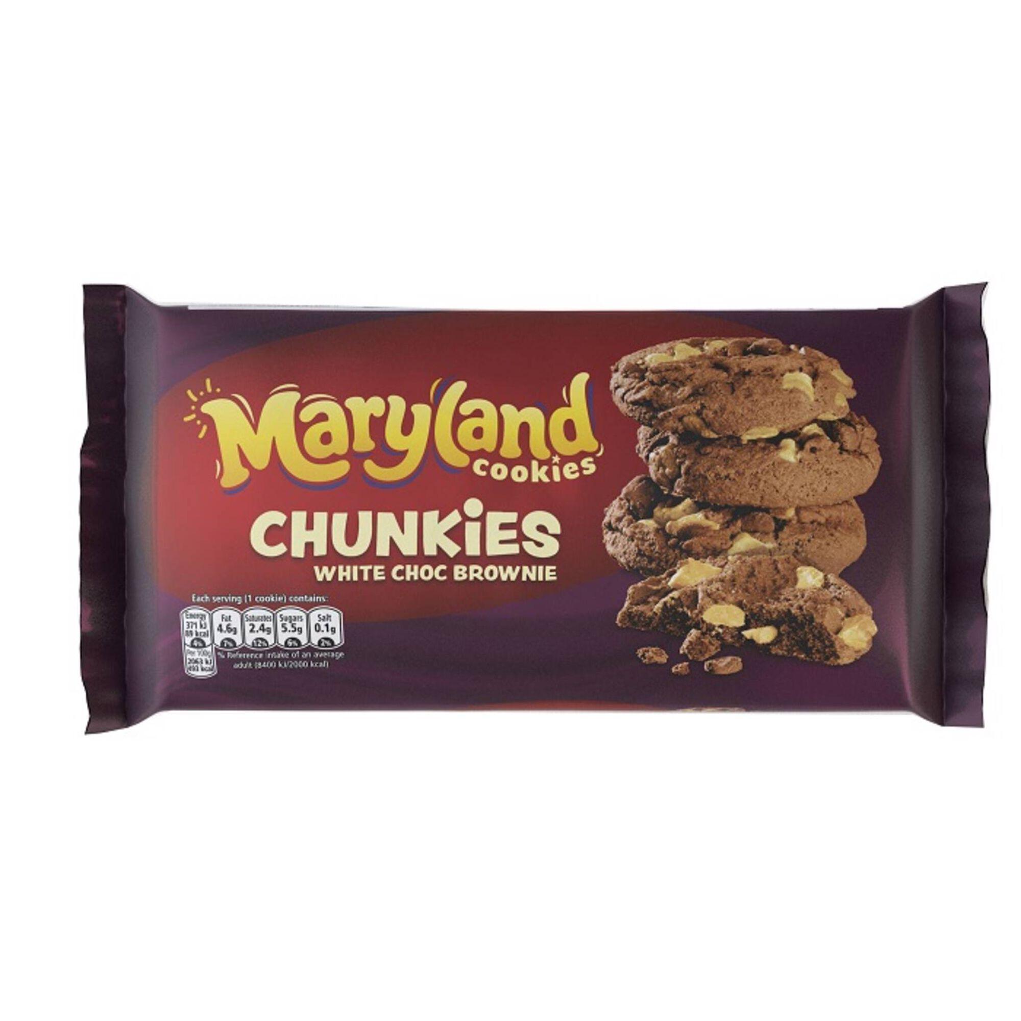 Bolachas Cookies Chunkies Chocolate Branco