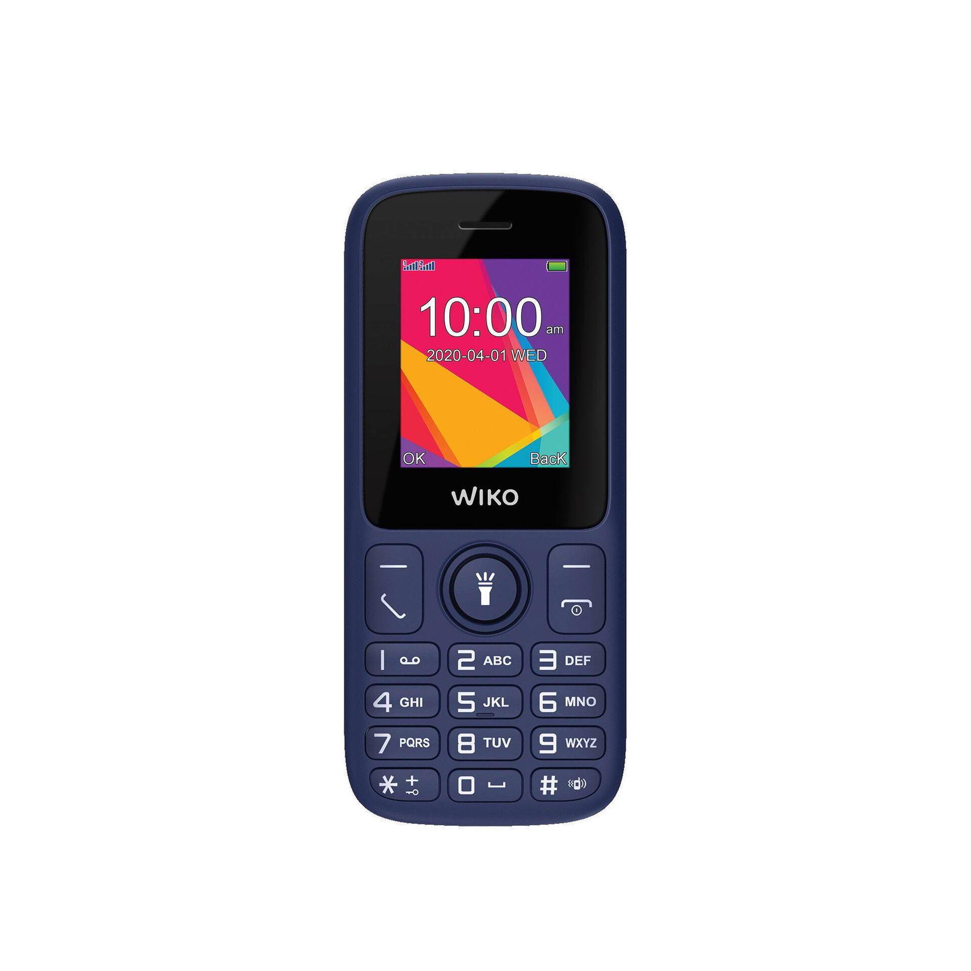 Telemóvel Desbloqueado NOS Wiko F100 Azul