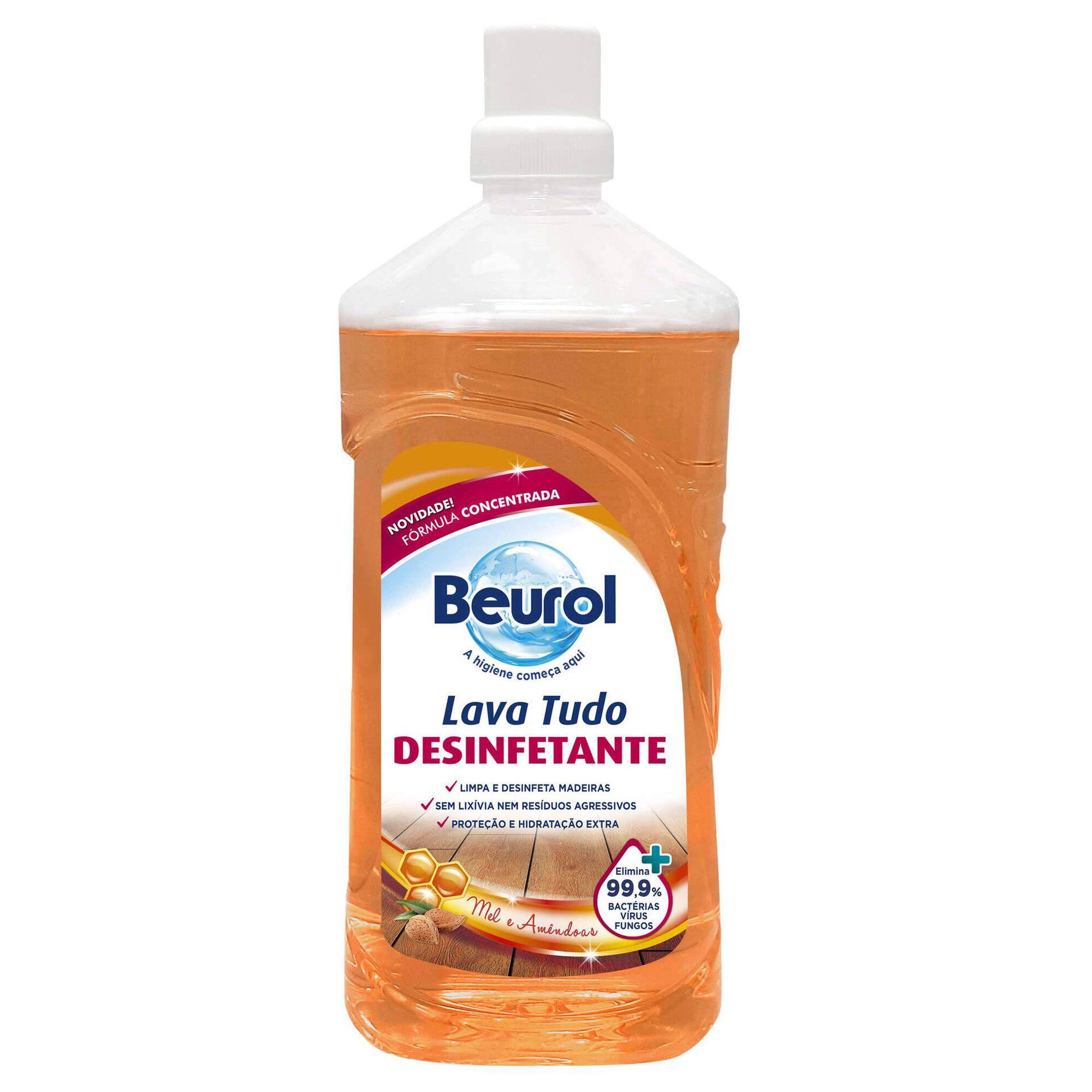 Lava Tudo Madeiras Desinfetante