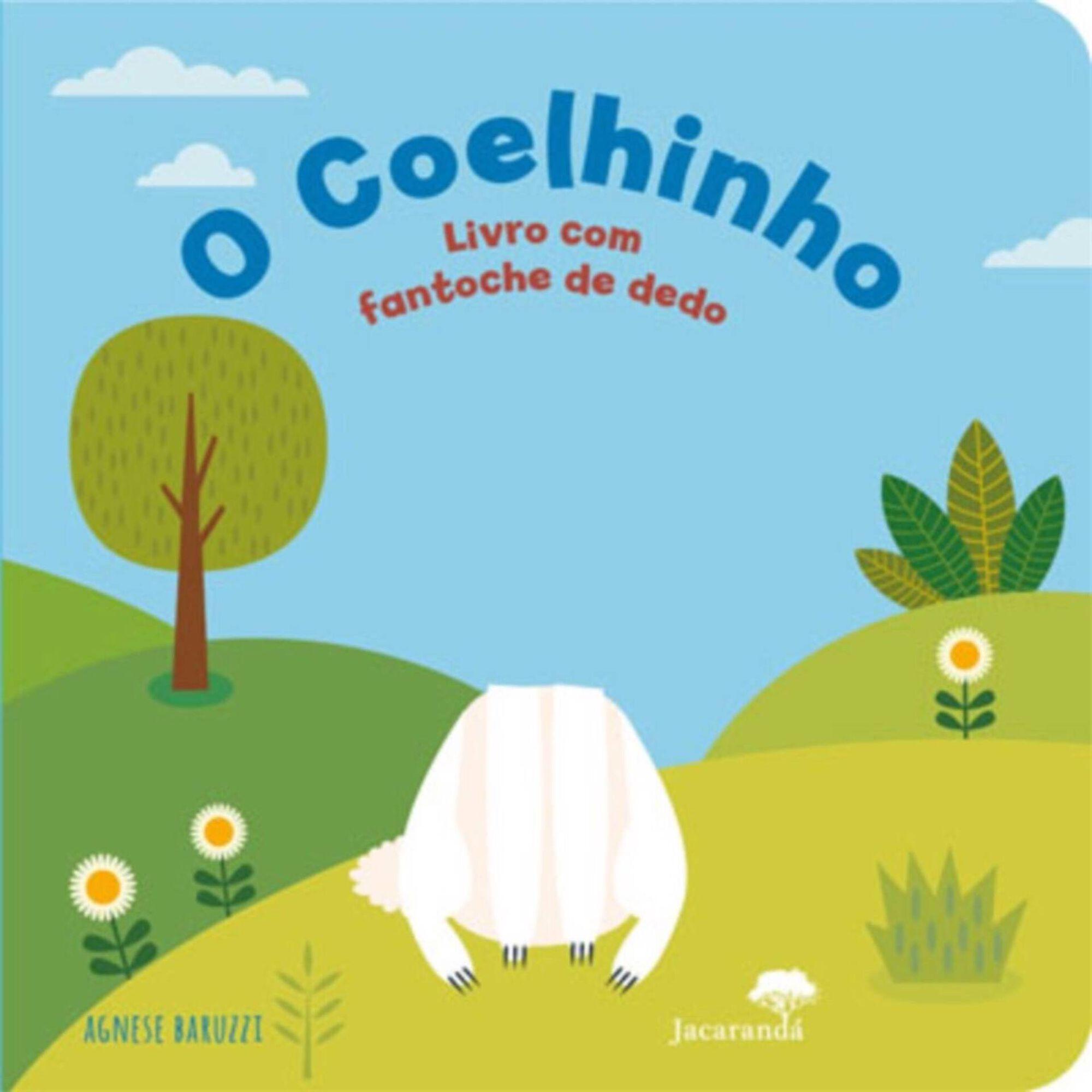 O Coelhinho - Livro com Fantoche de Dedo