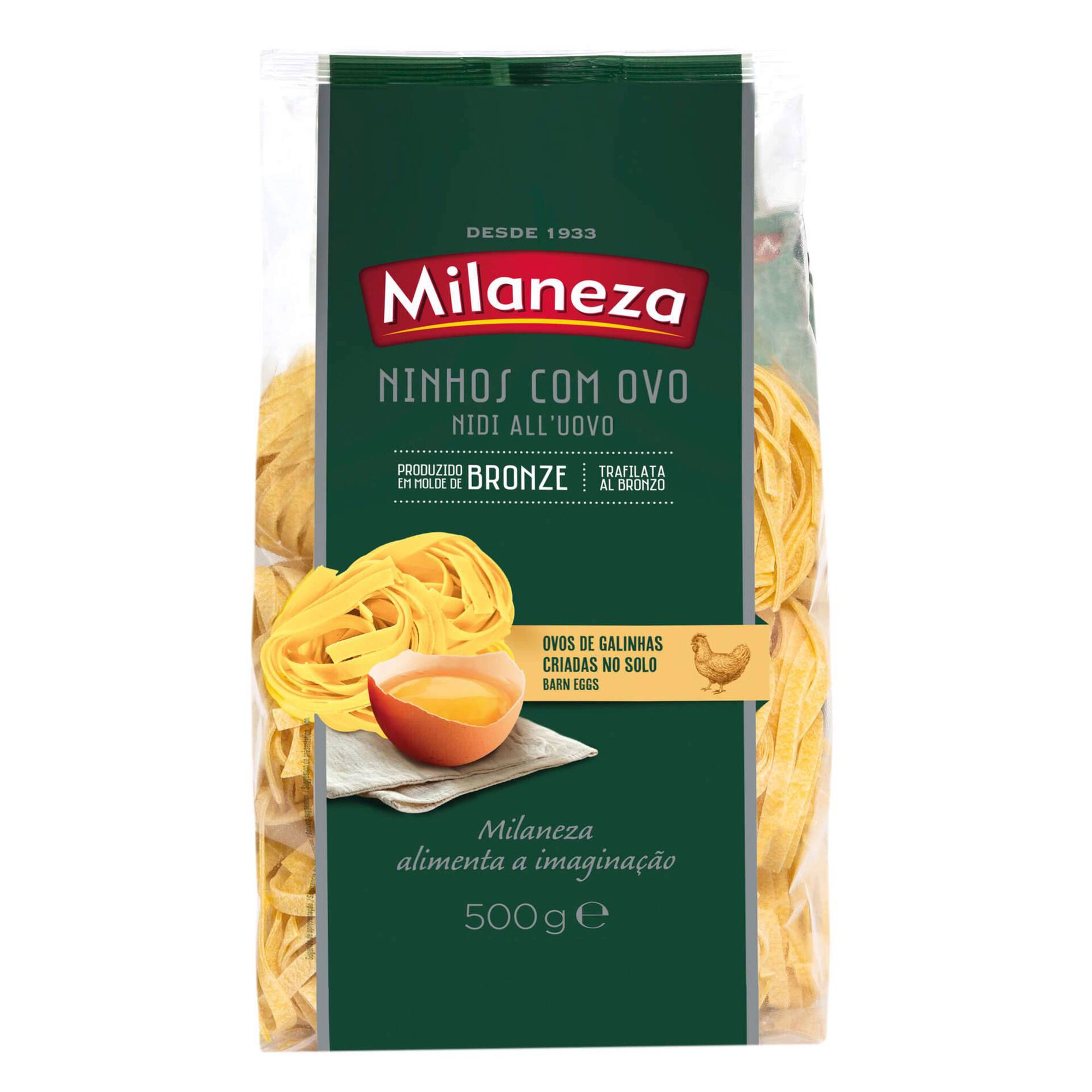 Massa Tagliatelle Ninhos com Ovo