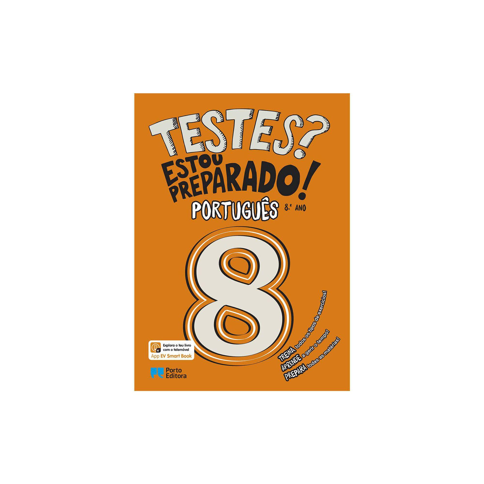 Testes? Estou Preparado! - Português - 8º ano