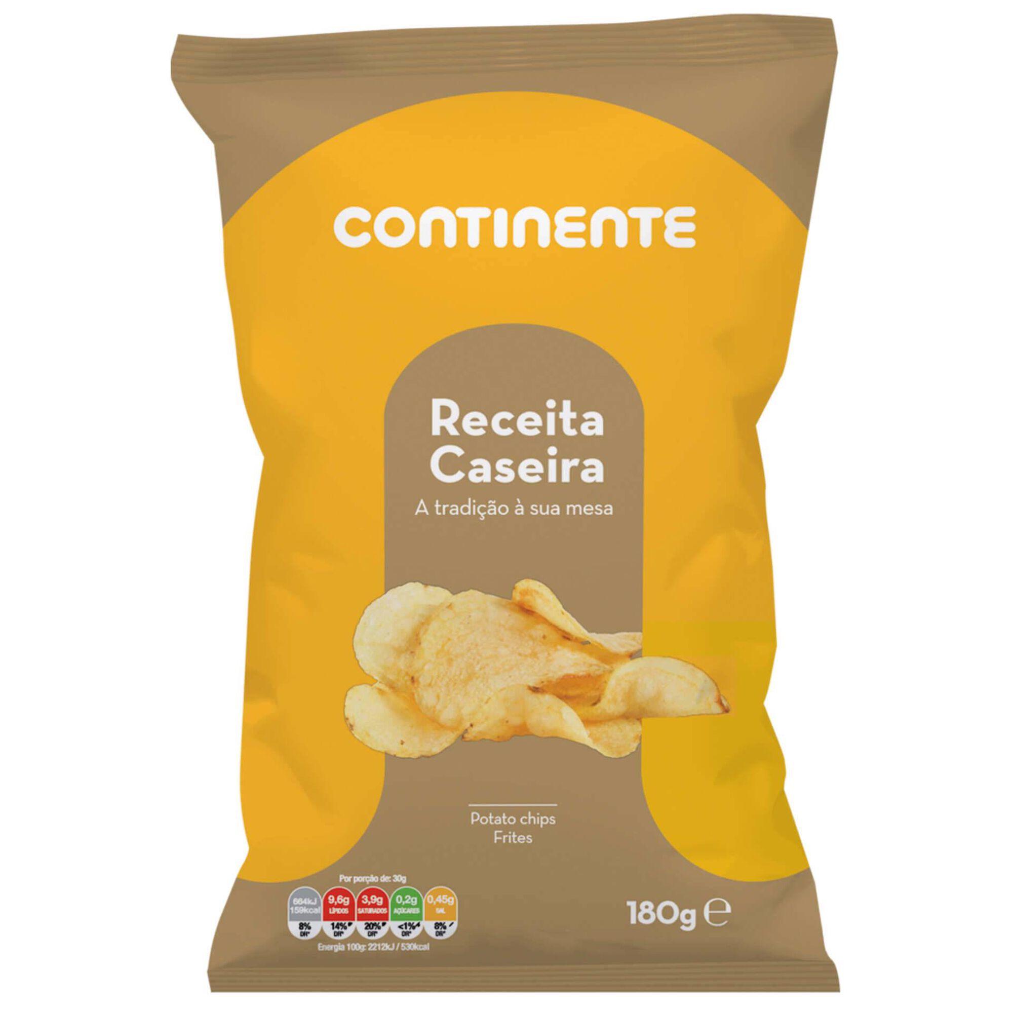Batata Frita Lisa Receita Caseira
