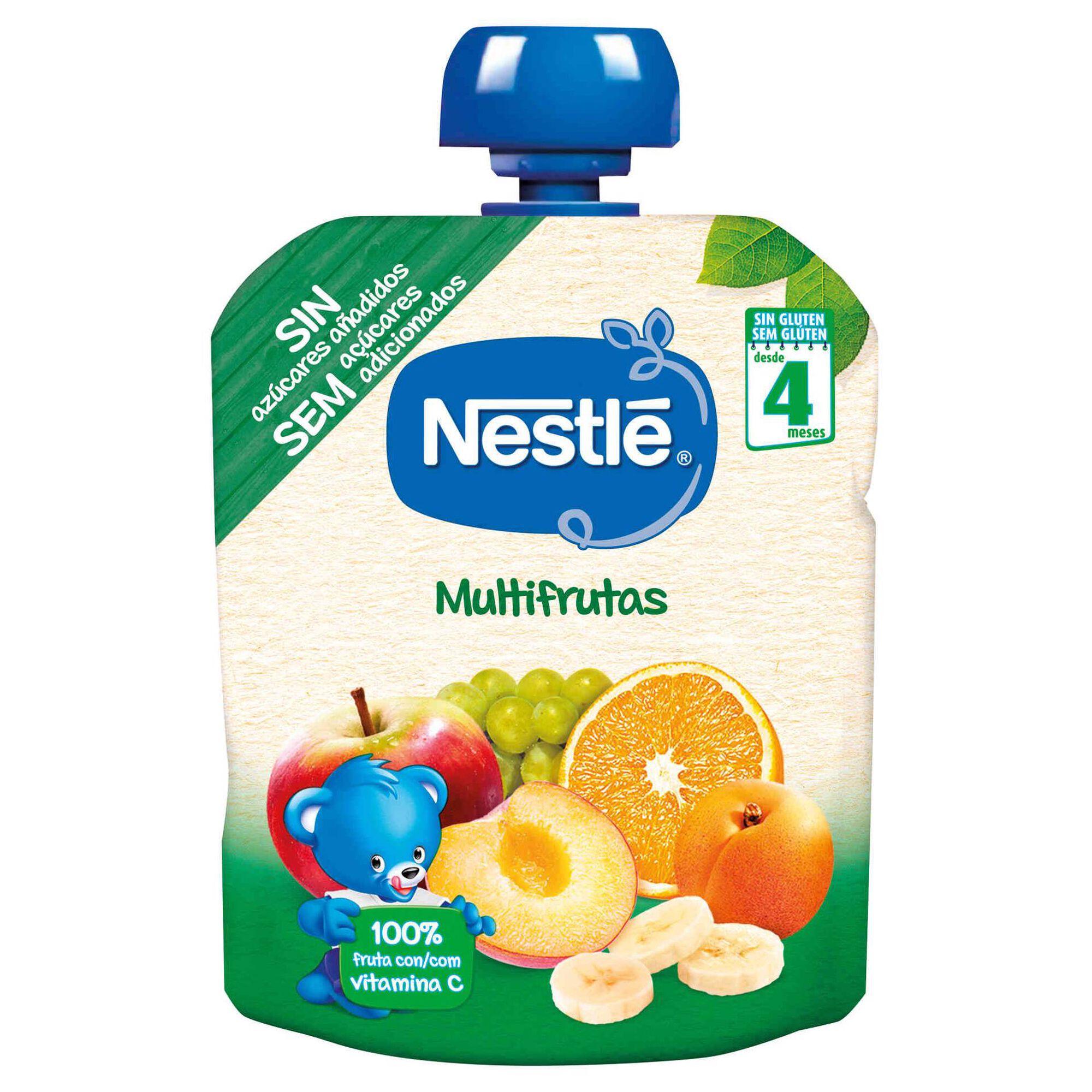 Saqueta de Fruta Multrifrutas sem Glúten +4 Meses