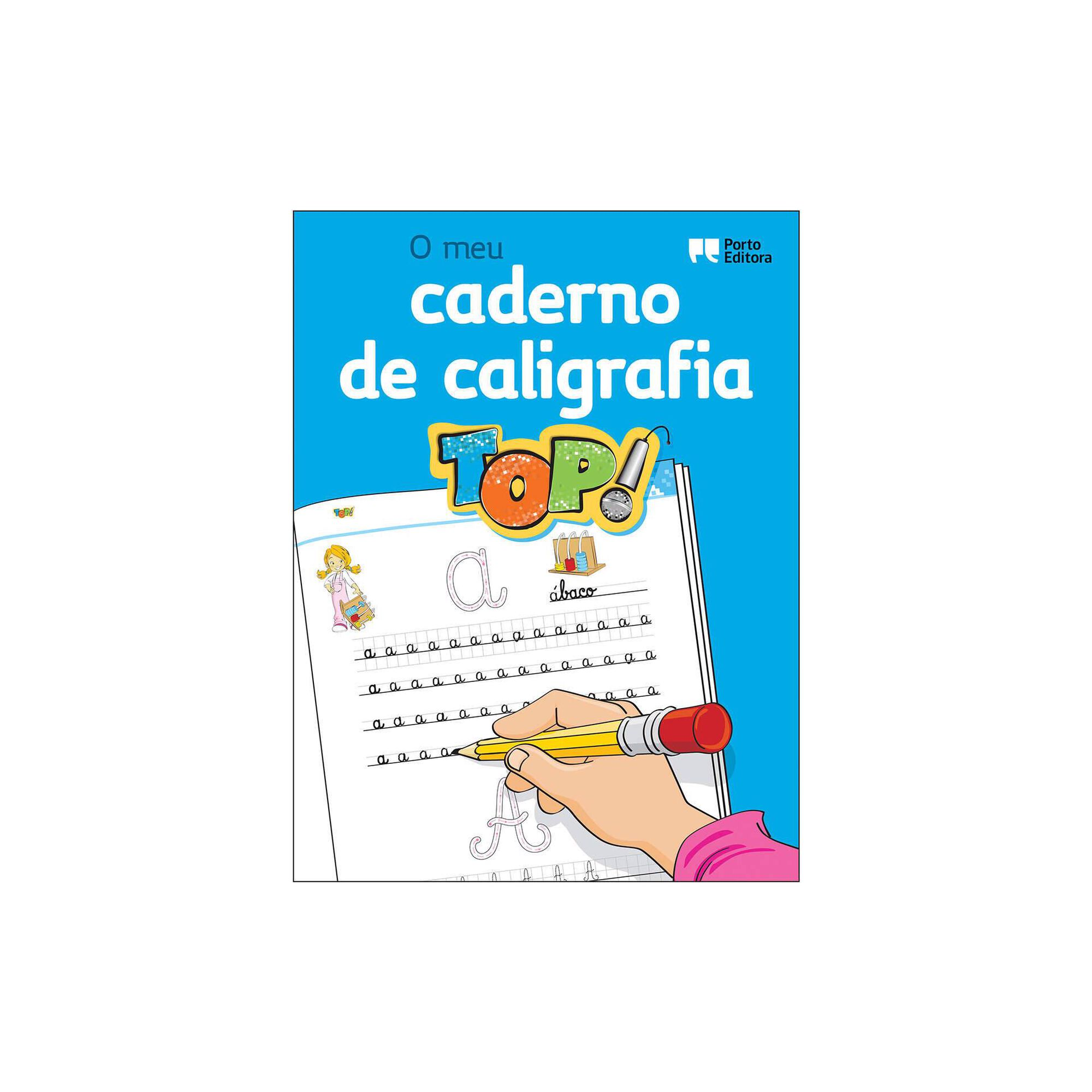 O Meu Caderno de Caligrafia TOP! - 1º ao 3º Ano