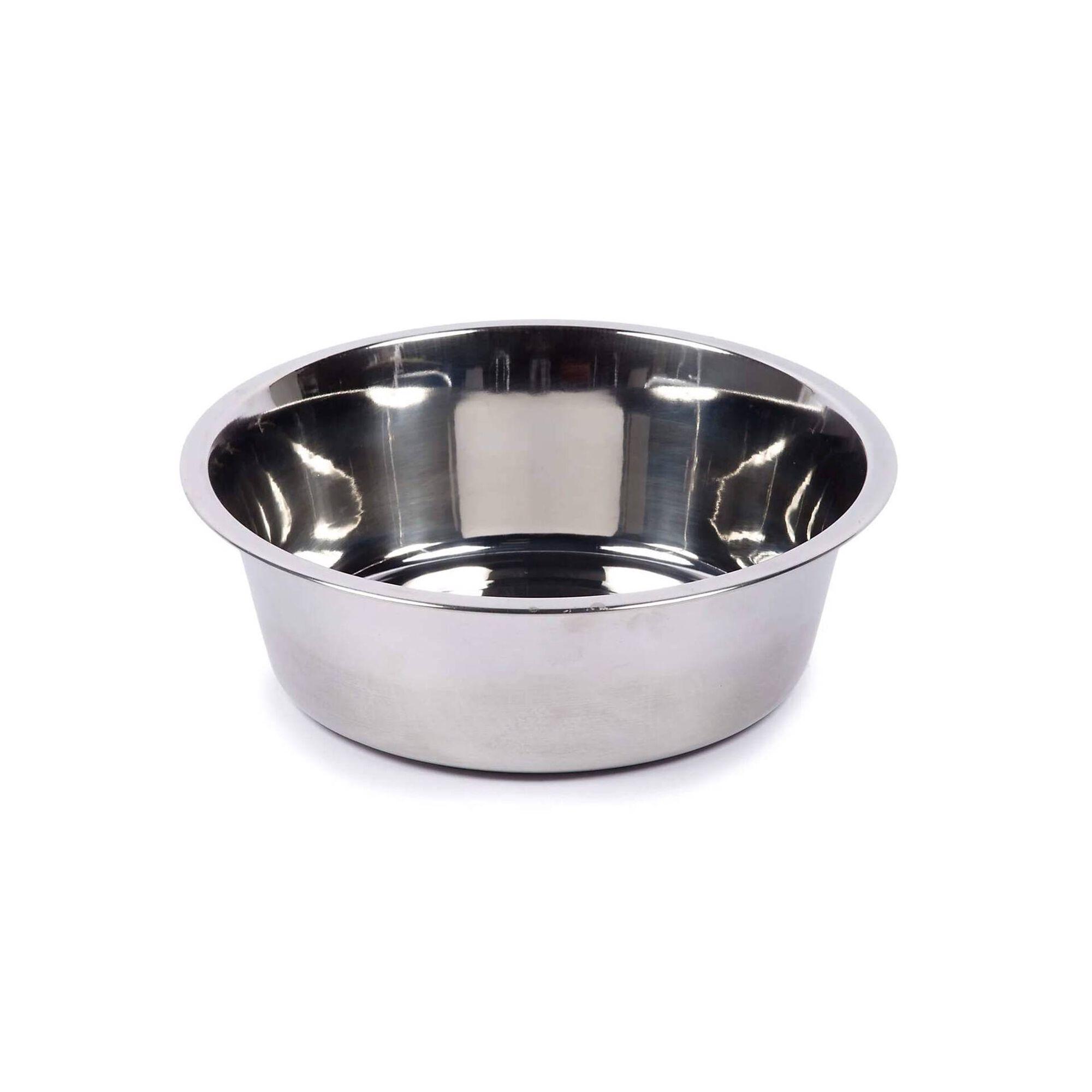 Comedouro para Cão Inox 21 cm x 1,5 lt