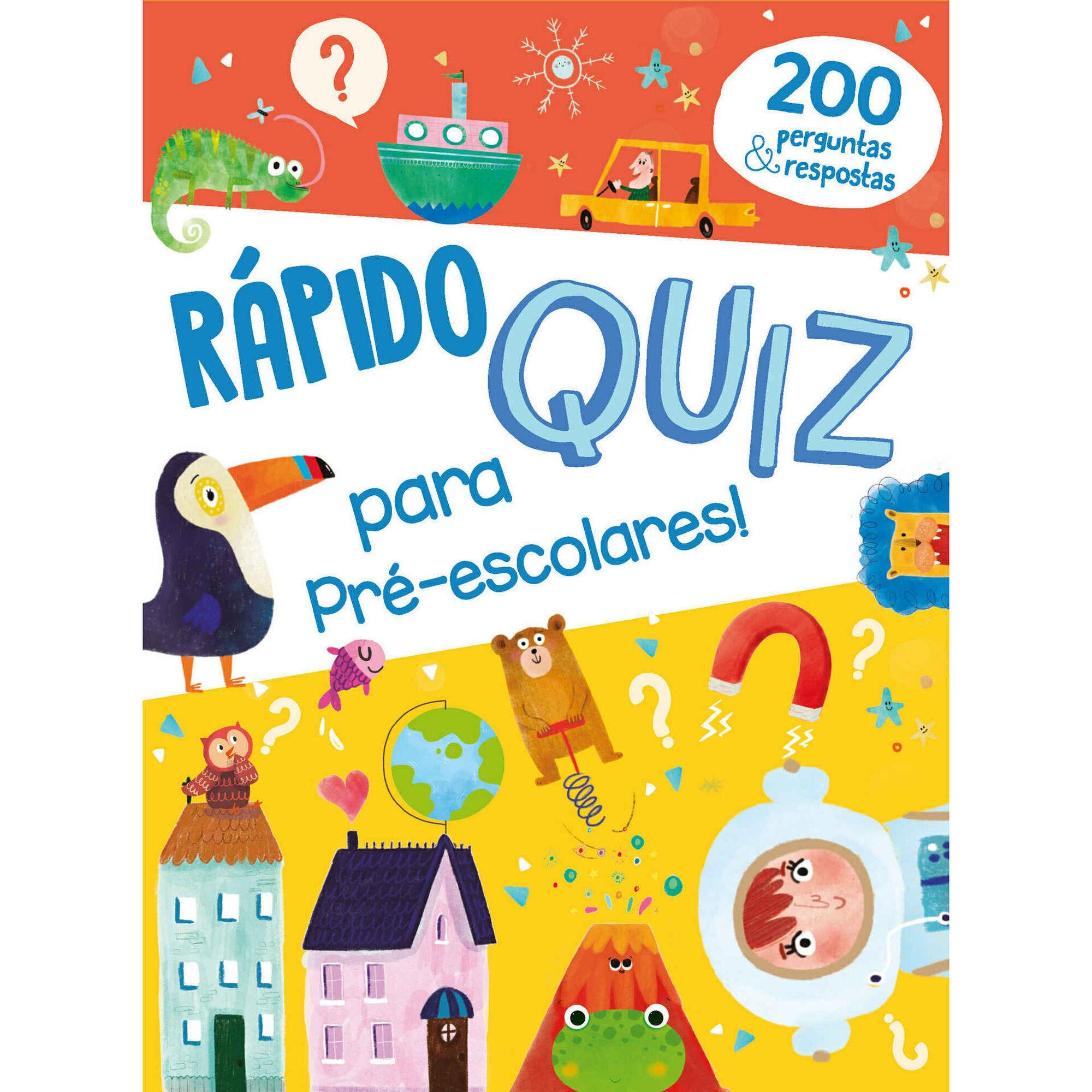 Rápido Quiz para Pré-escolares +5 Anos
