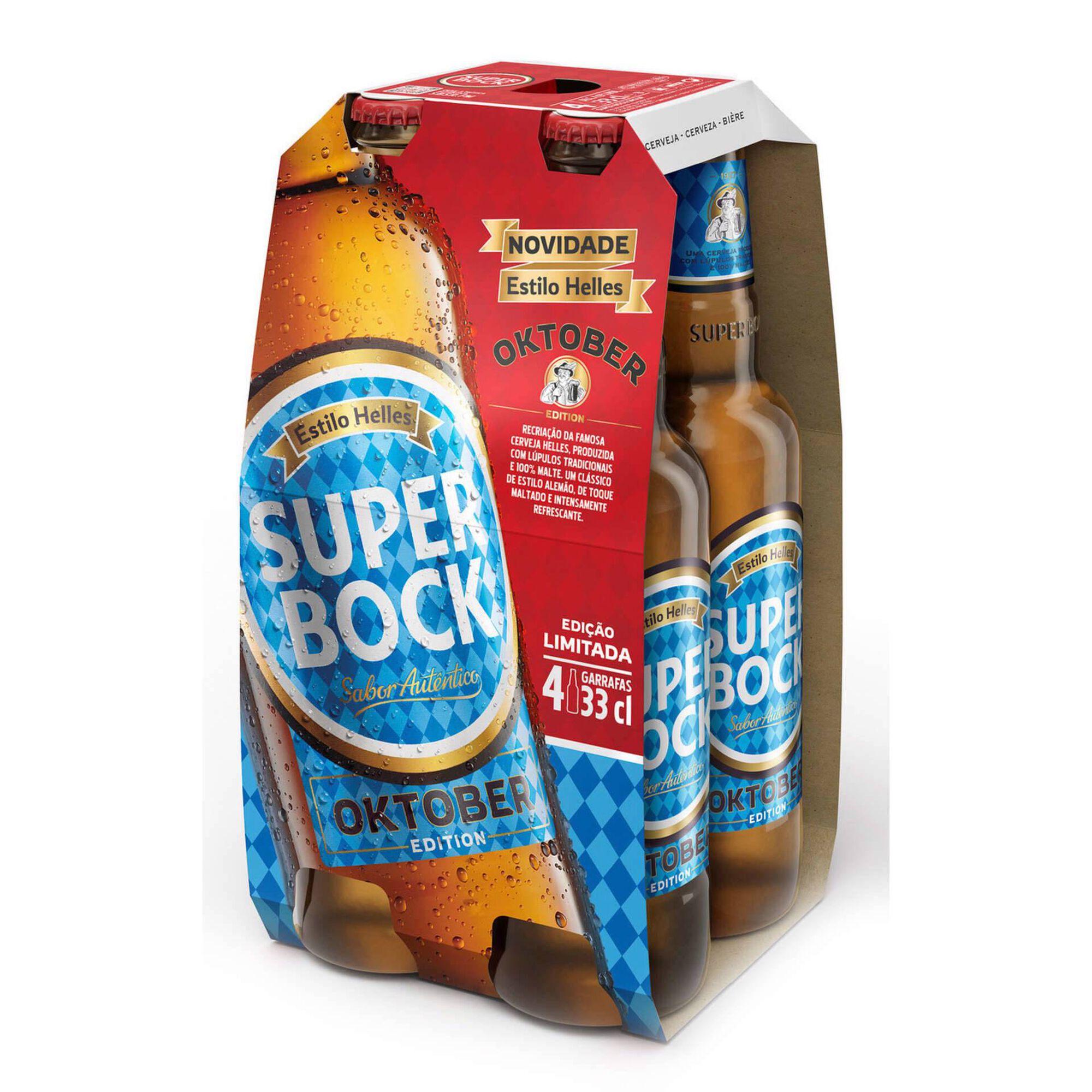 Cerveja com Álcool Oktober Estilo Helles
