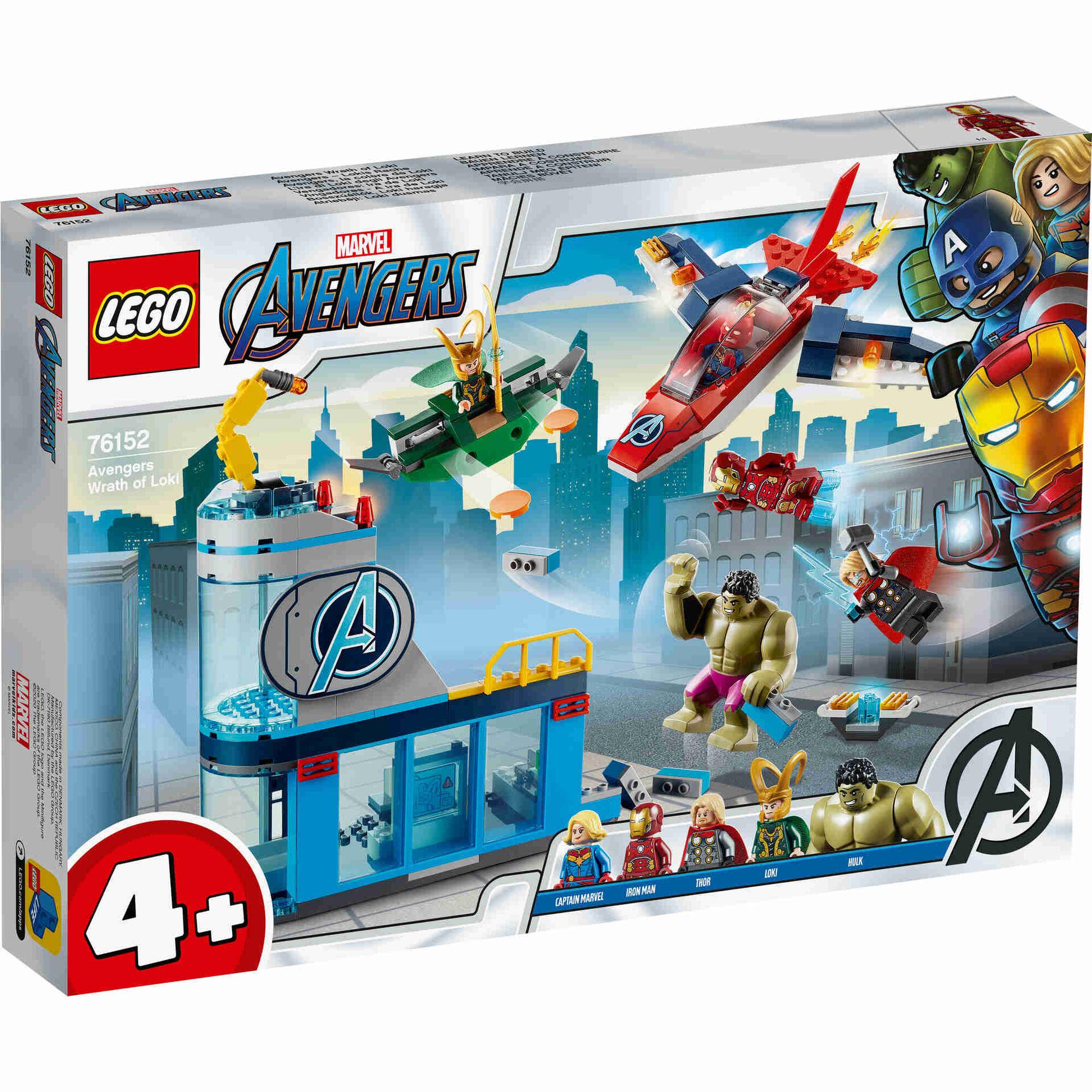 Vingadores: A Ira de Loki - 76152