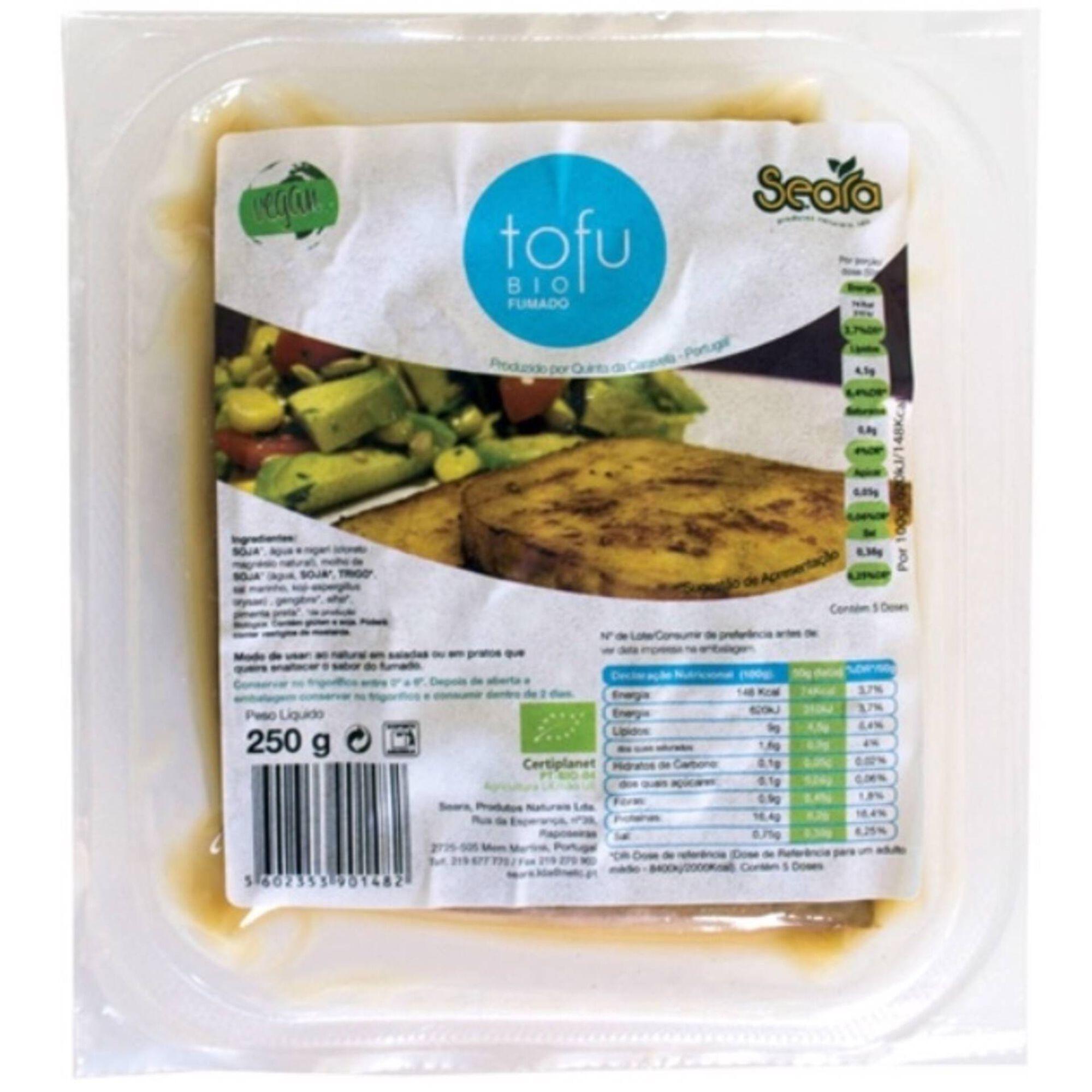 Tofu Fumado Refrigerado Biológico
