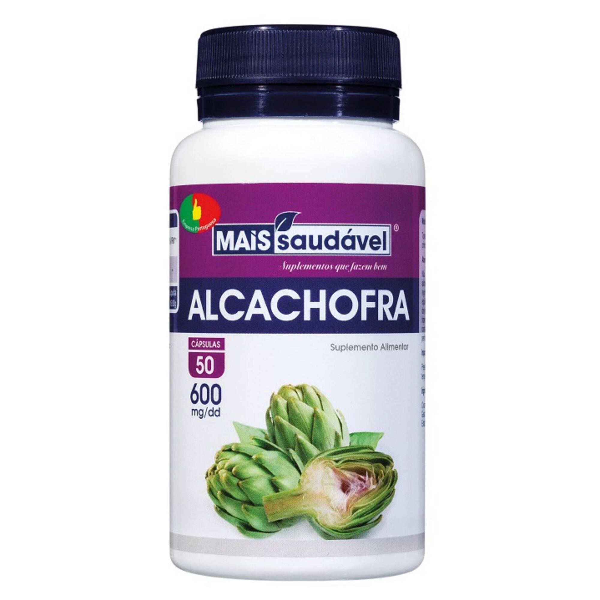 Suplemento Alimentar Alcachofra Cápsulas