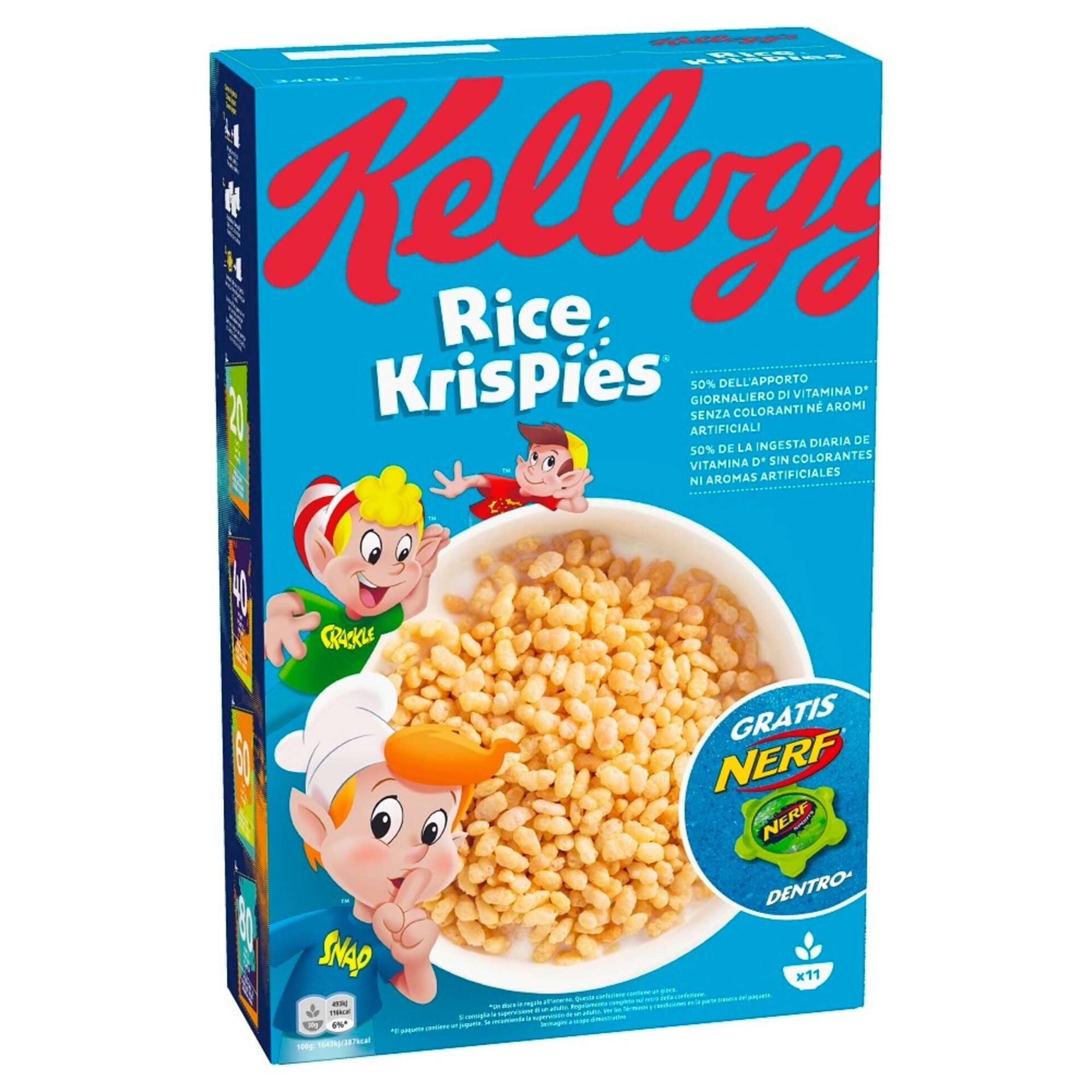 Cereais Rice Krispies Arroz Tostado com Mel