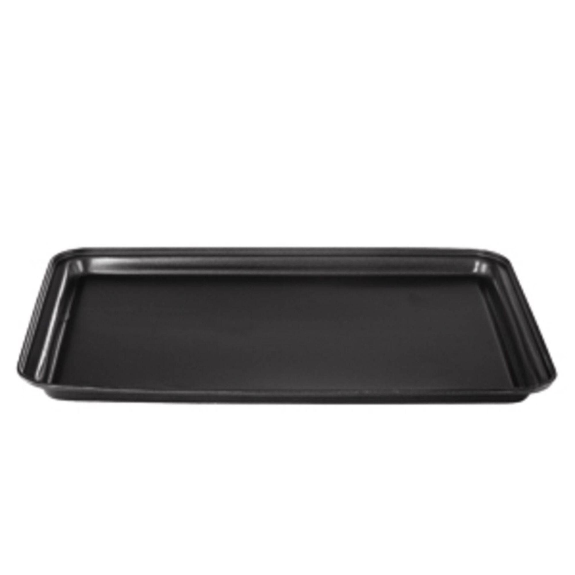 Tabuleiro Forno Aço Carbono 37x26cm Cinza Chefe