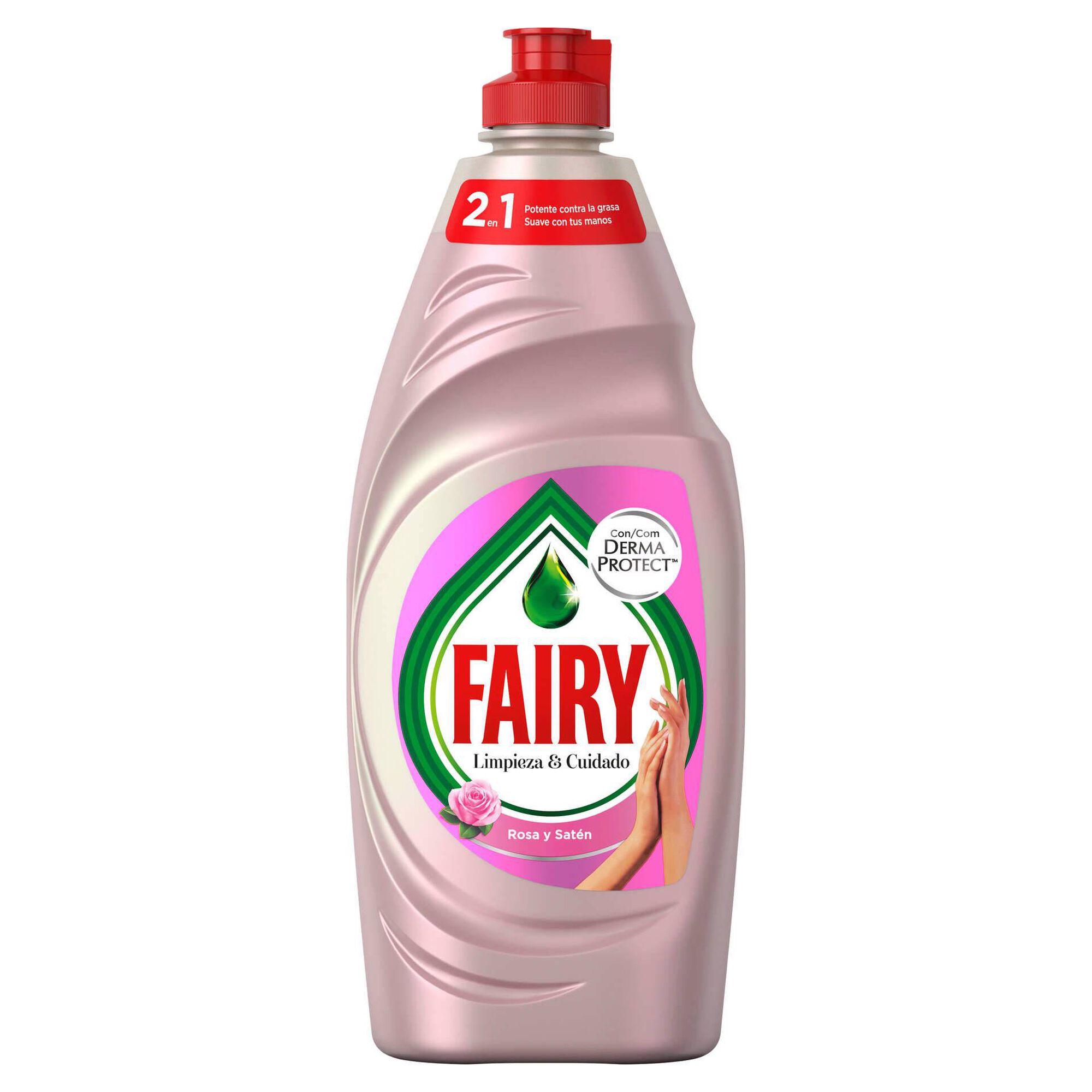 Detergente Manual Loiça Rosa e Cetim