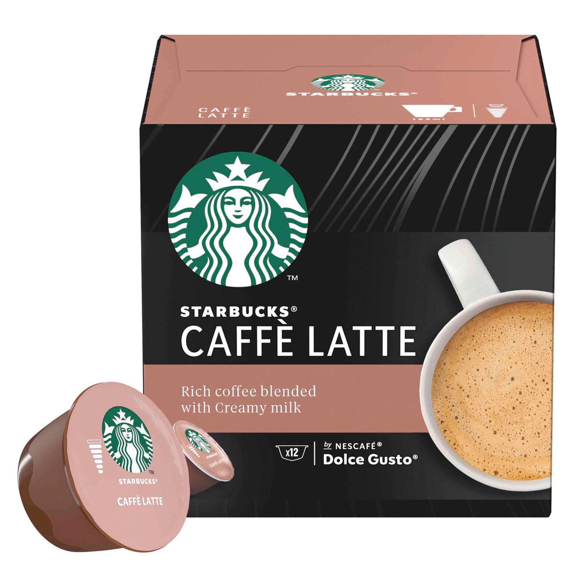 Cápsulas de Café Latte Compatível com Dolce Gusto