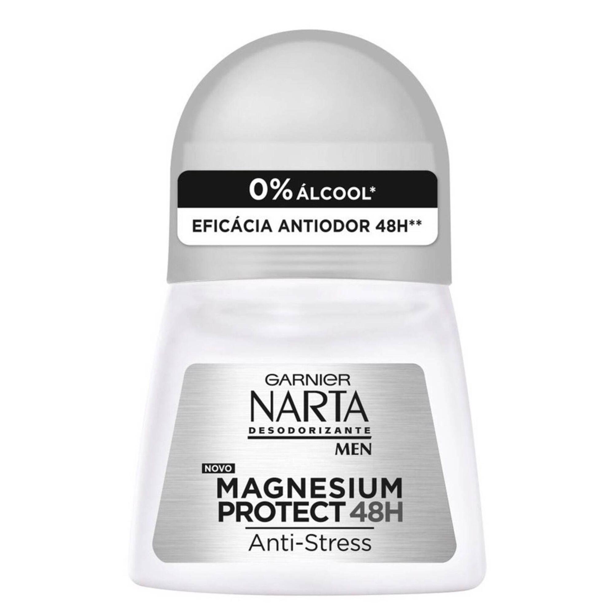 Desodorizante Roll On Narta Men Magnesium Protect
