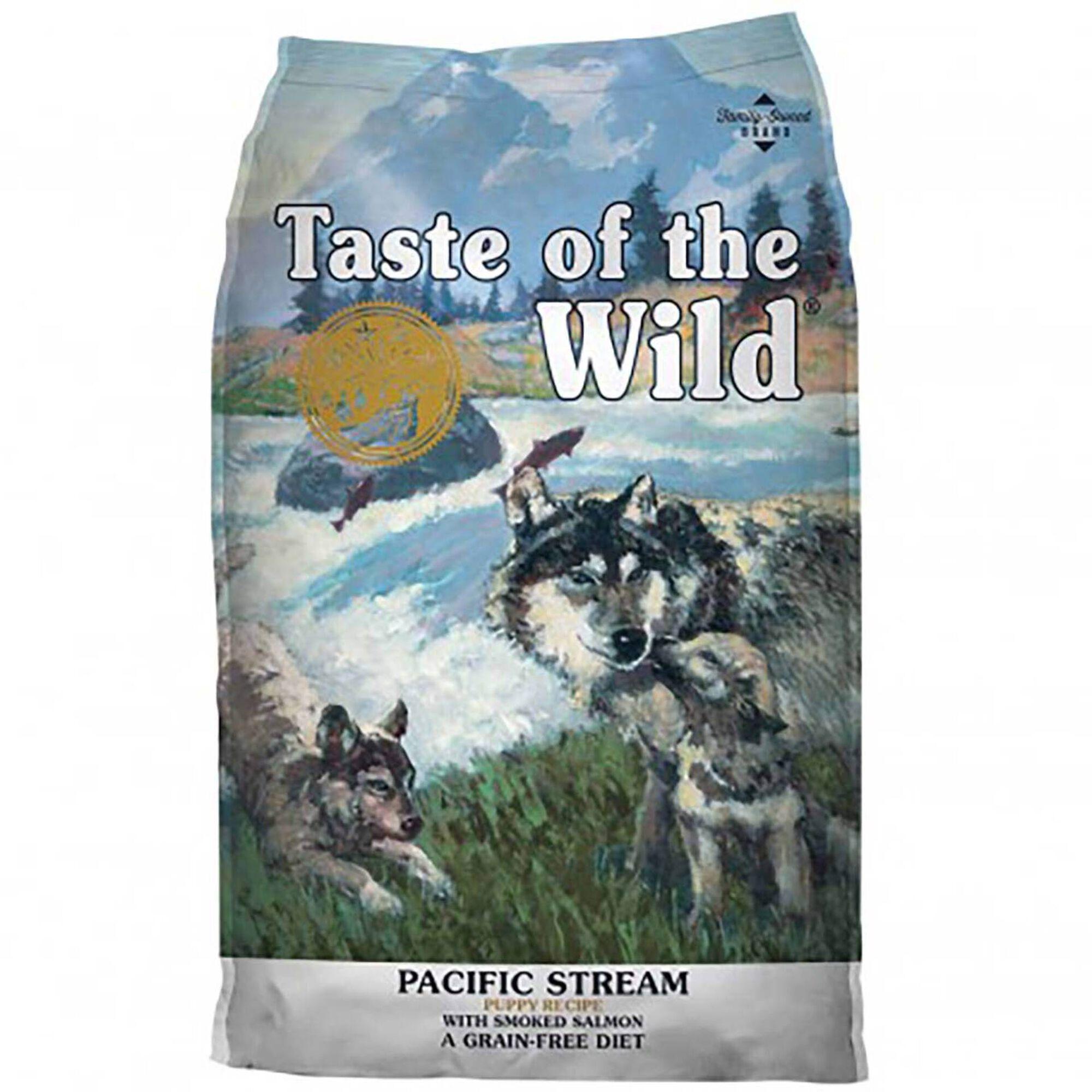 Ração para Cão Júnior Pacific Stream Grain Free Salmão Fumado