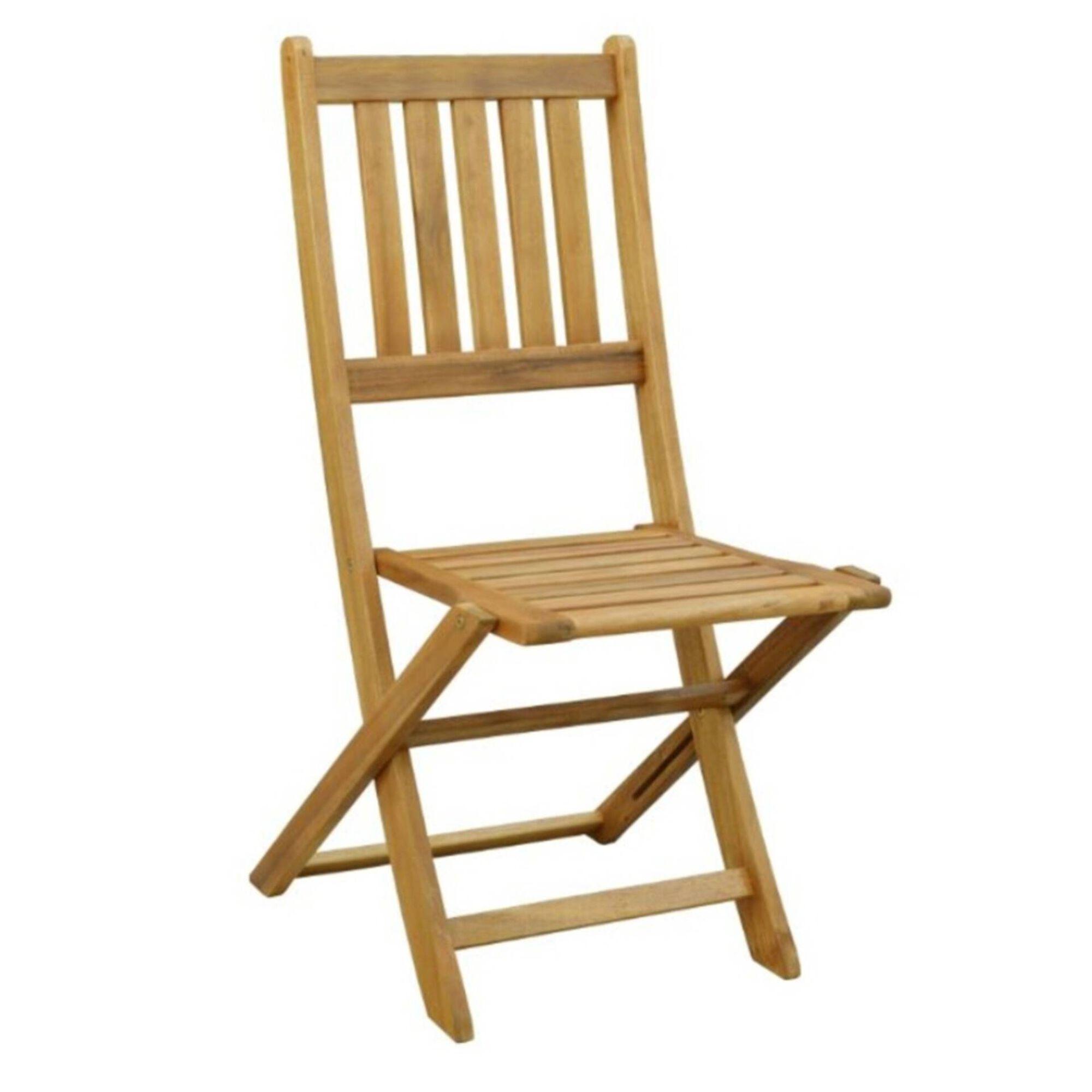Cadeira de Madeira Acácia