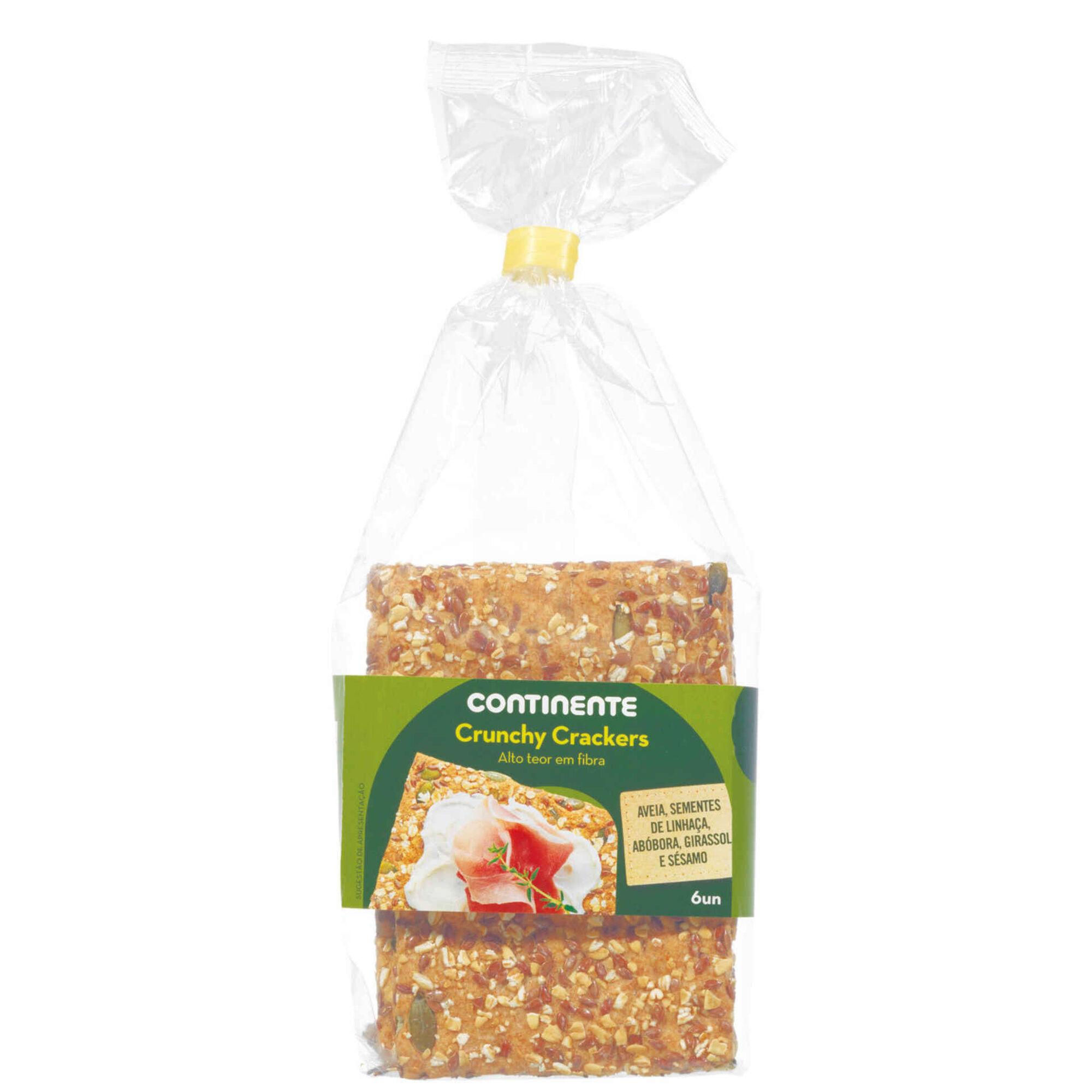Bolachas Cracker 5 Cereais
