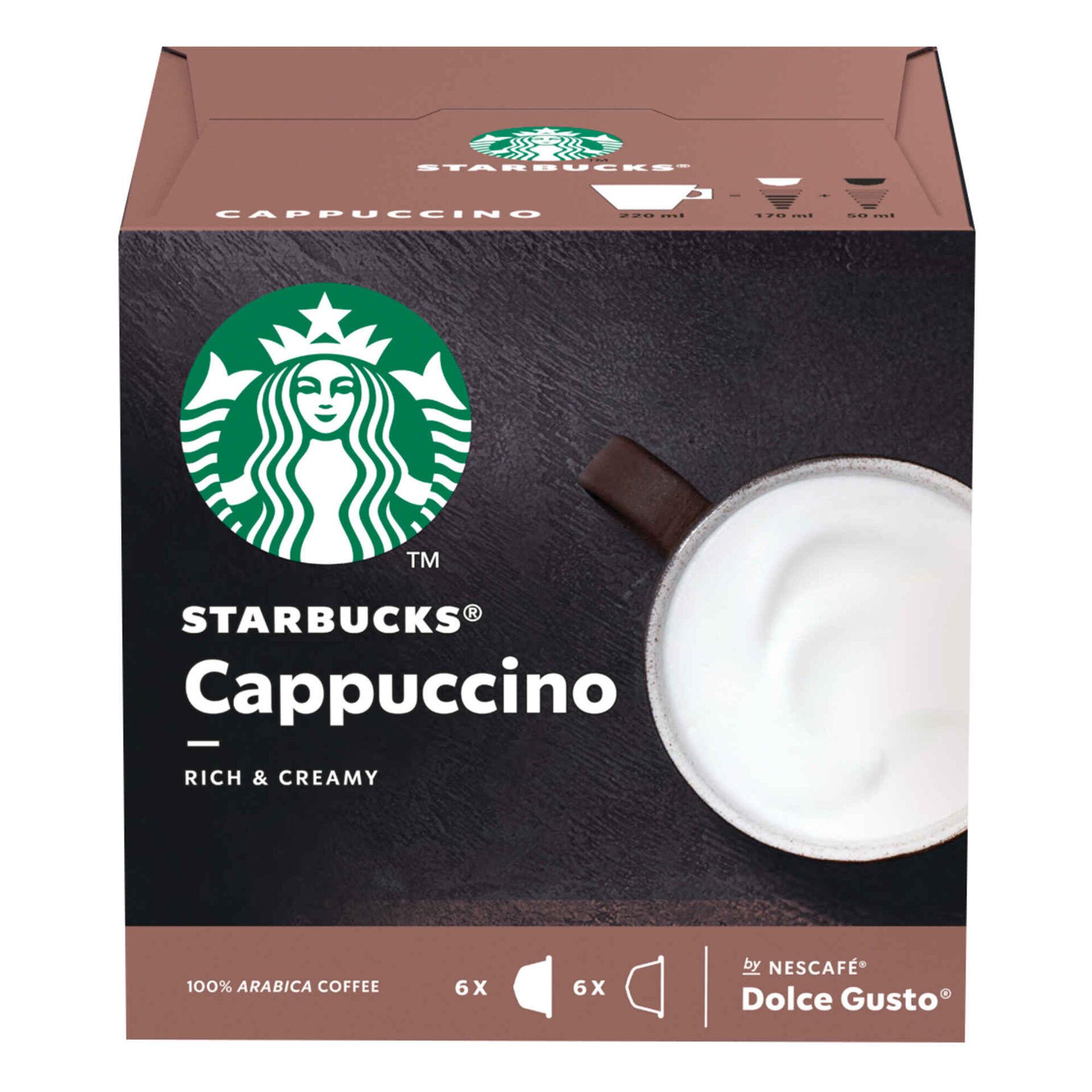 Cápsulas de Café Cappuccino Compatível com Dolce Gusto