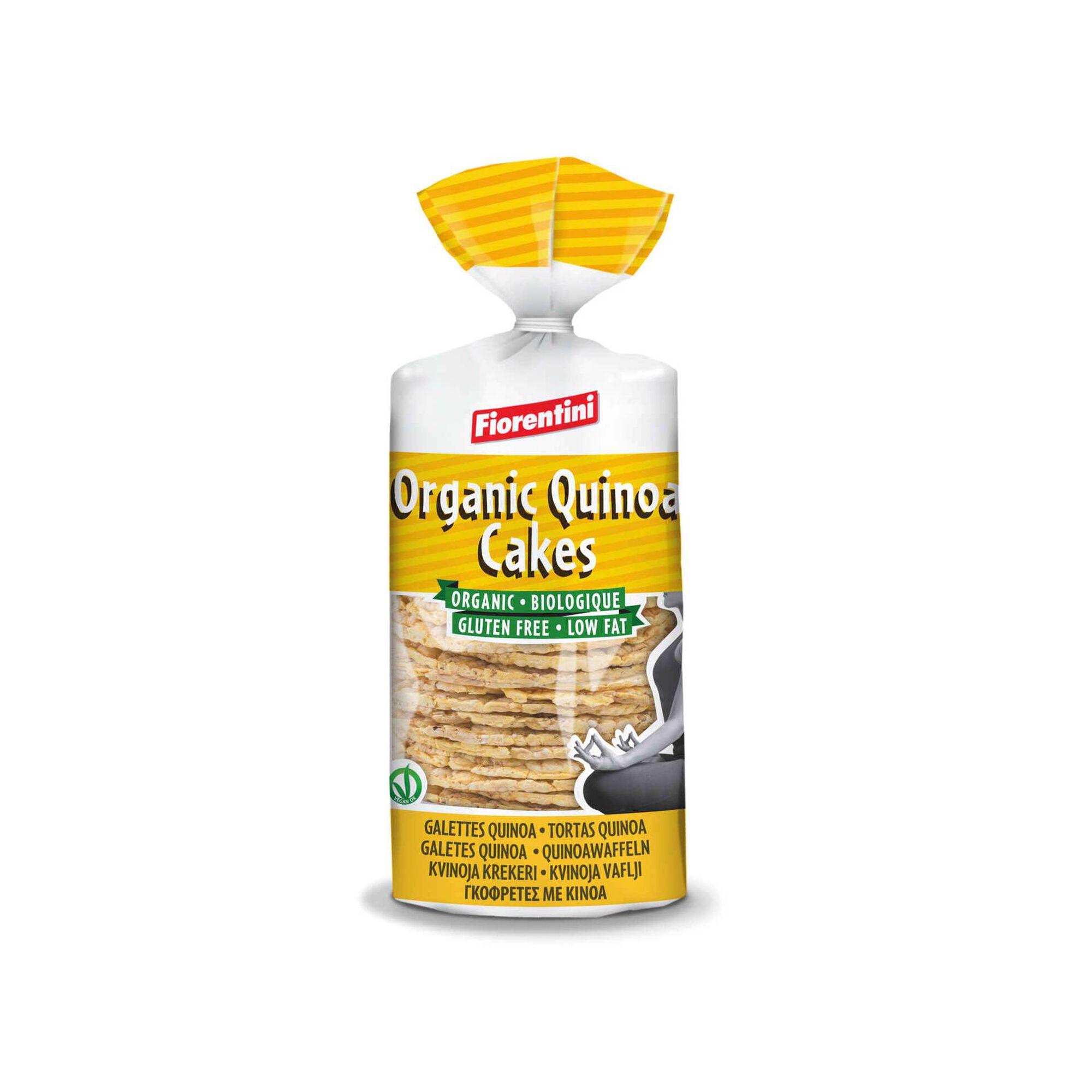 Tortitas de Milho e Quinoa sem Glúten Biológicas