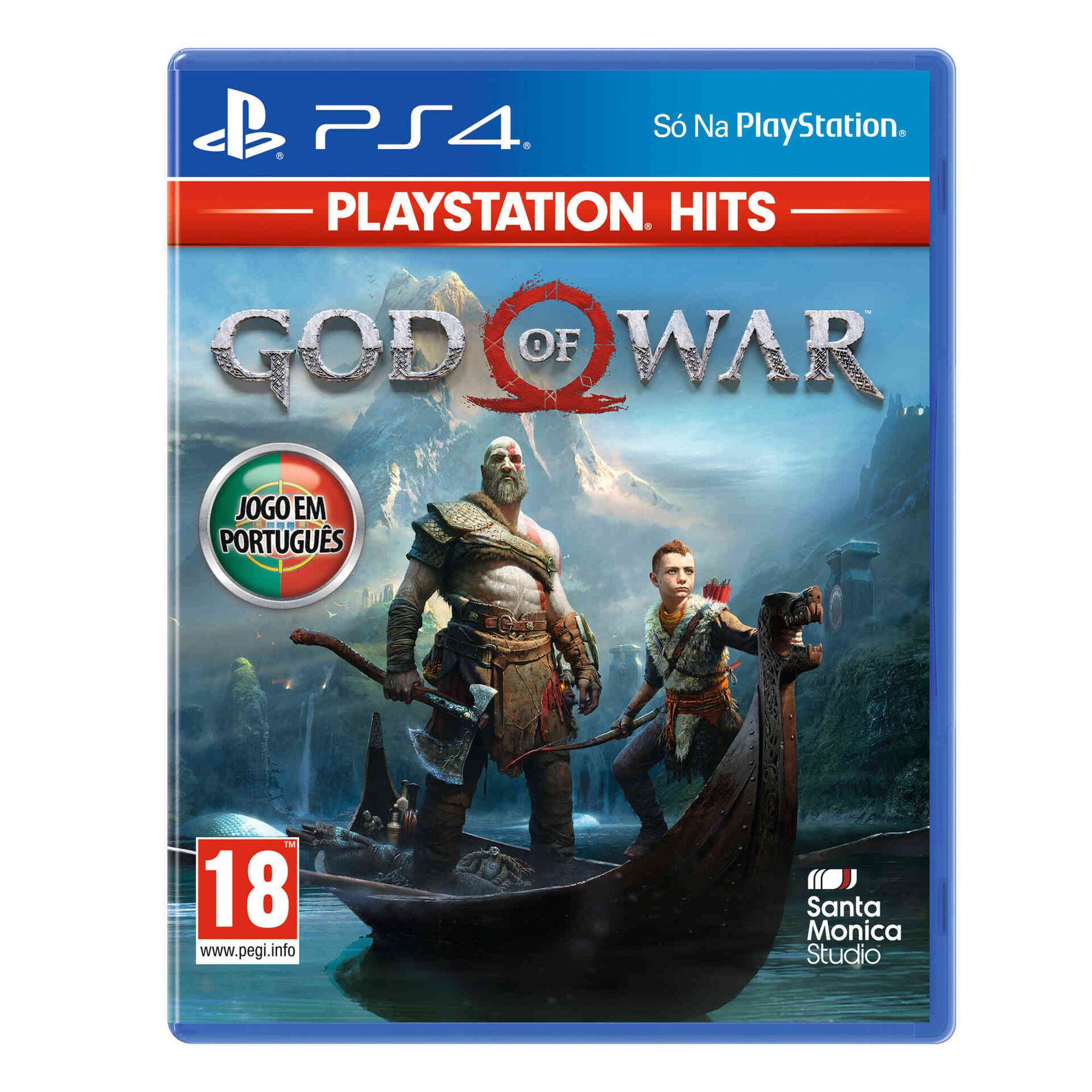 Jogo Sony PS4 God of War Hits