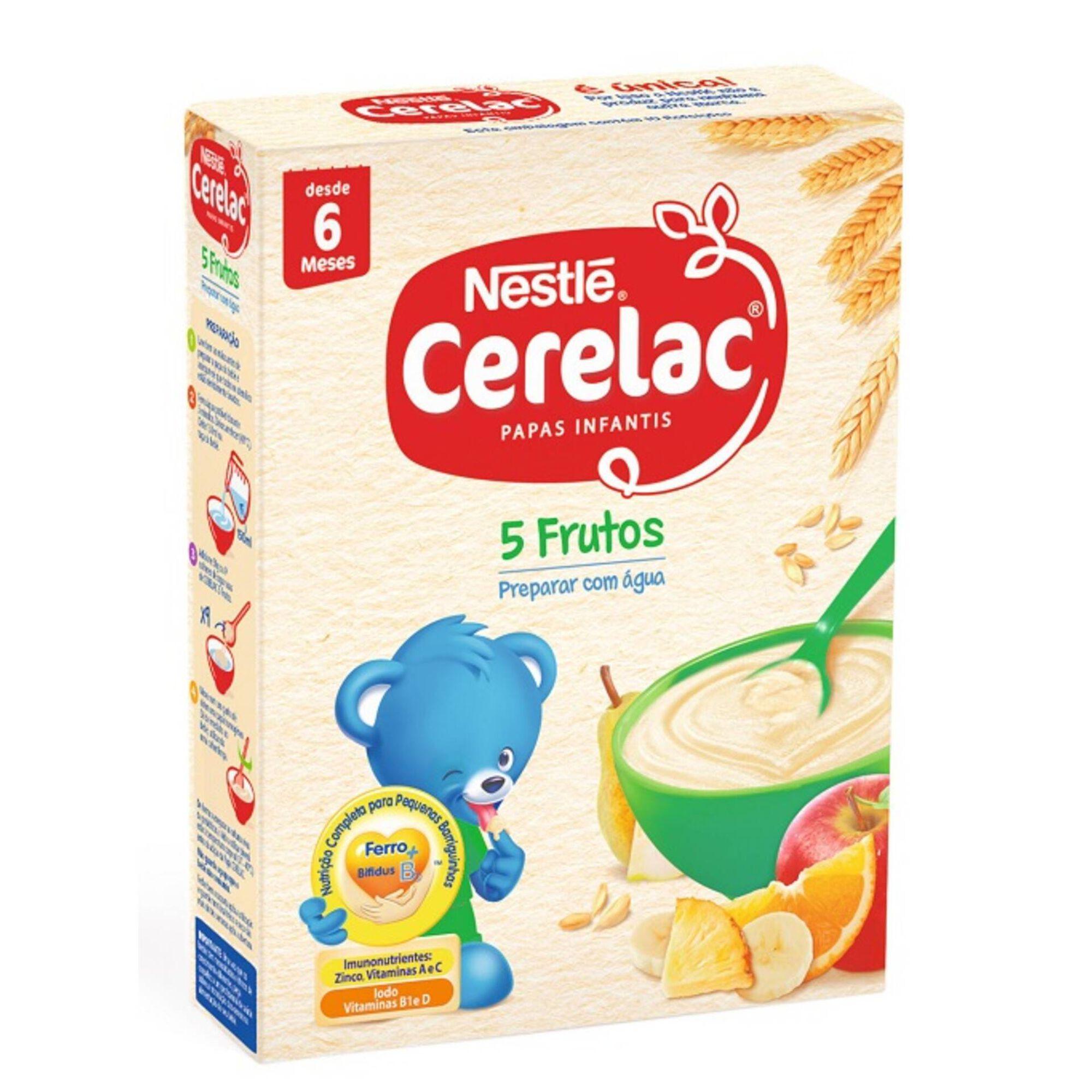 Papa Infantil Láctea 5 Frutos +6 Meses