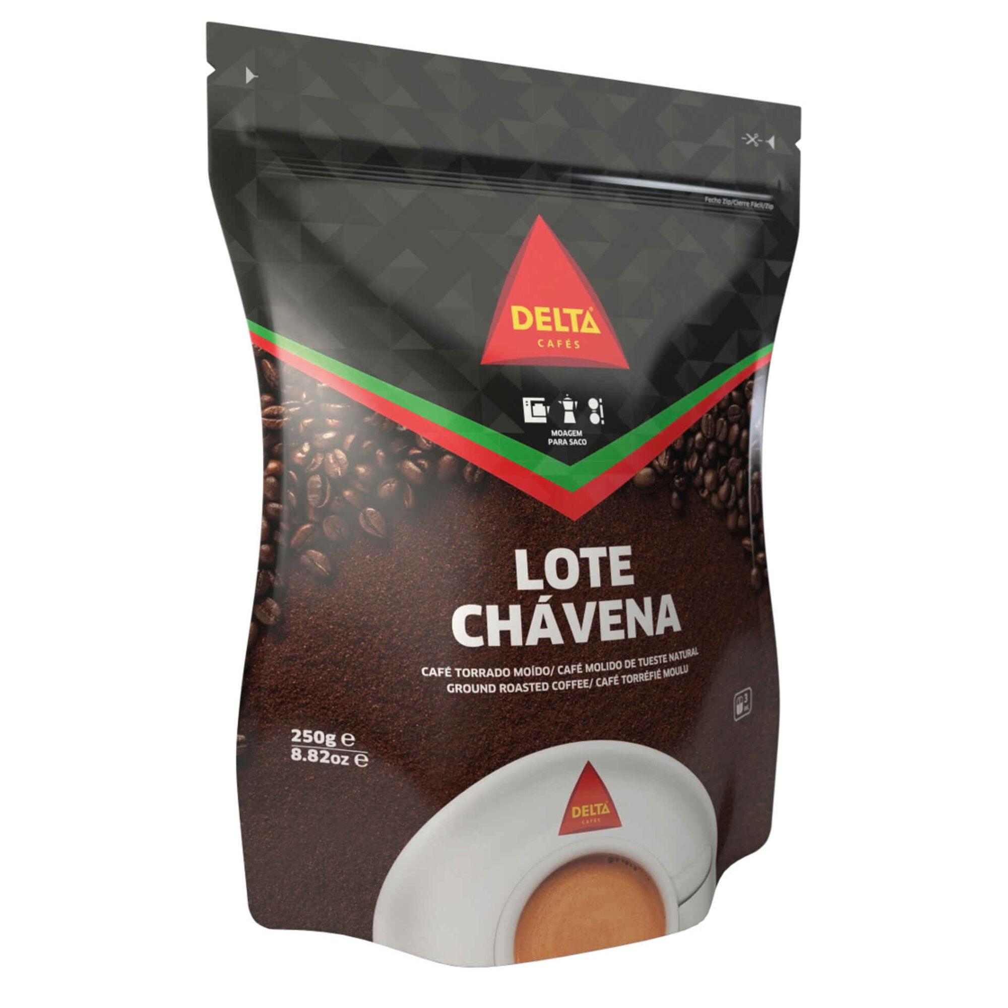Café Moído Torrado para Saco Lote Chávena