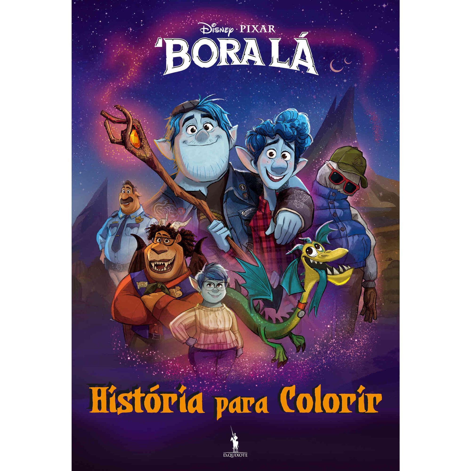 Bora Lá - História para Colorir