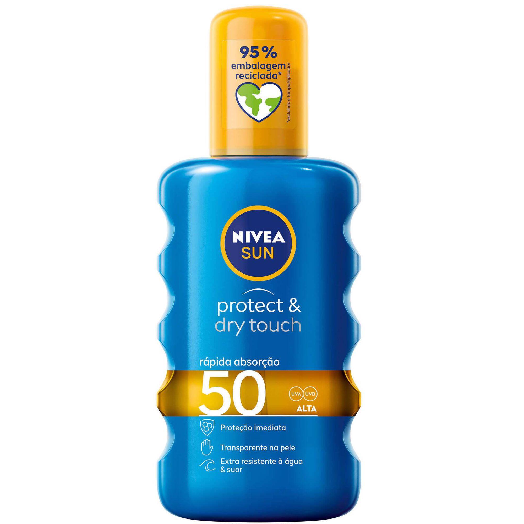 Protetor Solar Spray Óleo Protect & Dry FPS50