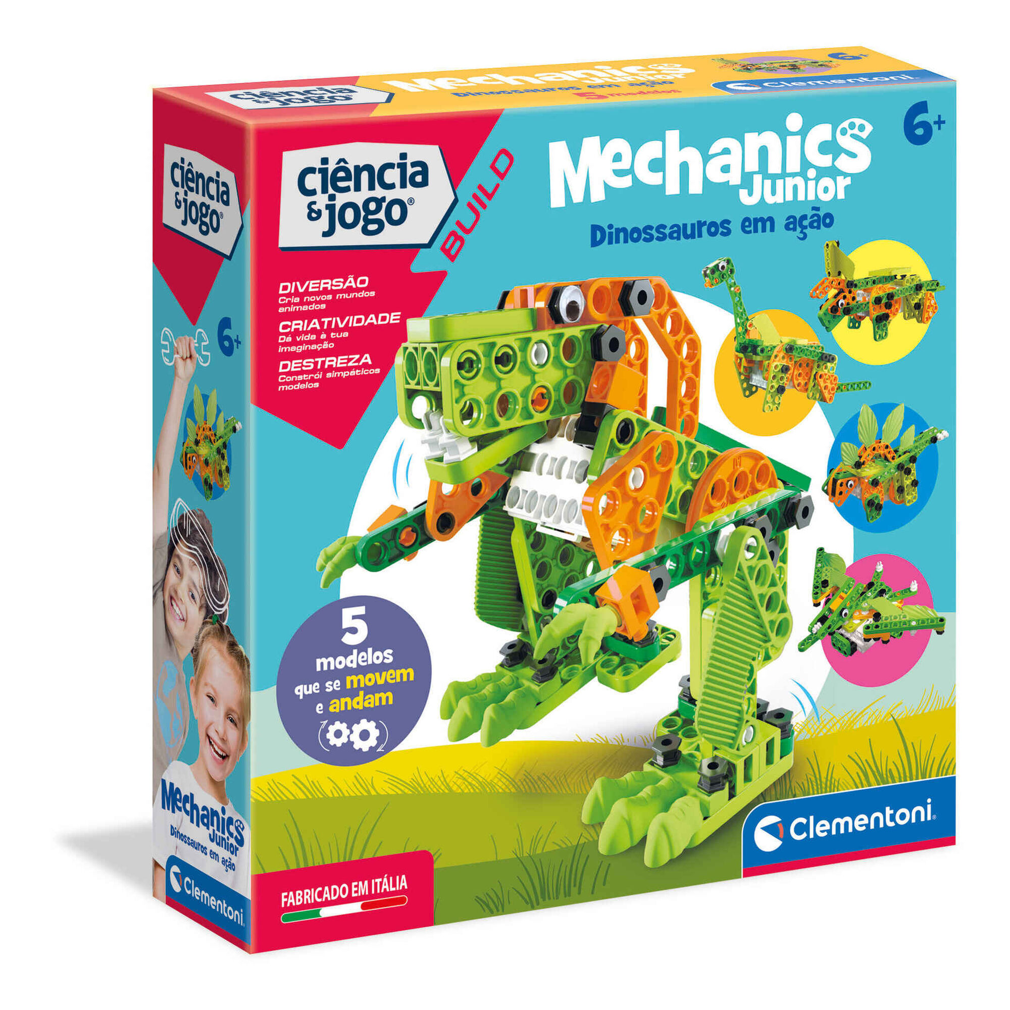 Mecânica Junior - Dinossauros em Ação