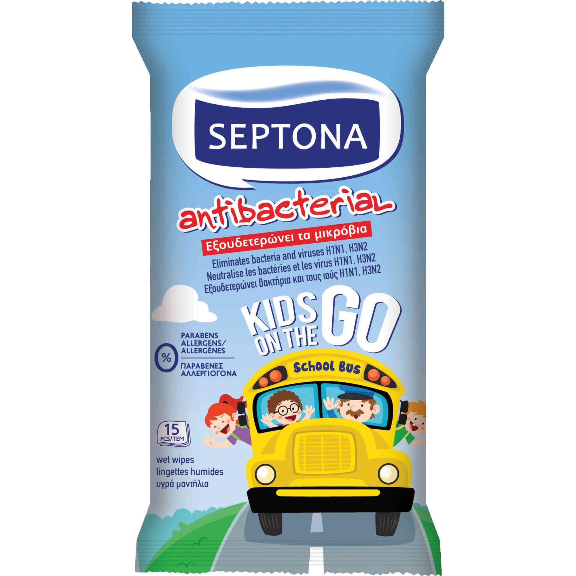 Toalhitas Antibacterianas Kids on the Go