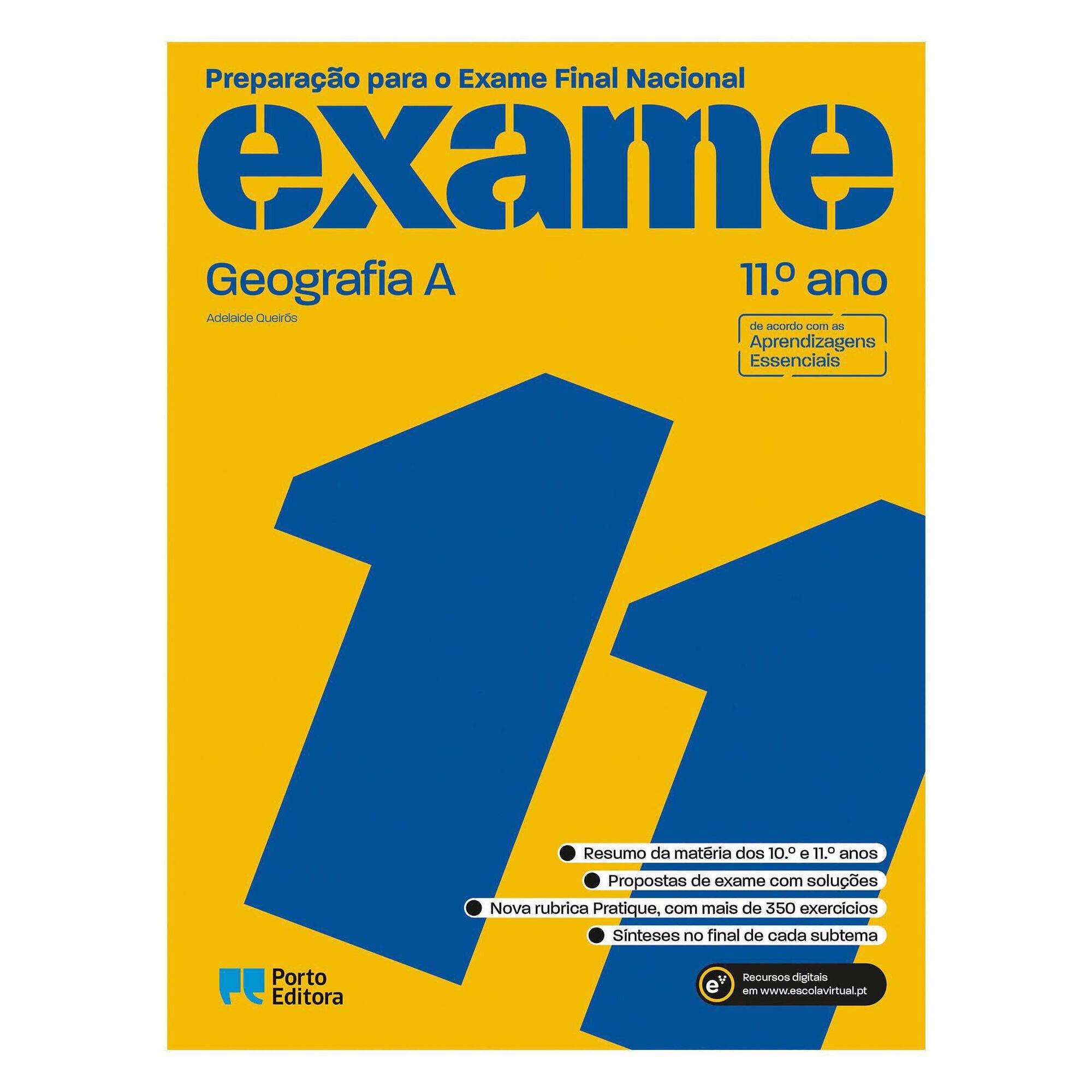 Preparação para o Exame Final Nacional 2021 - Geografia A - 11º Ano