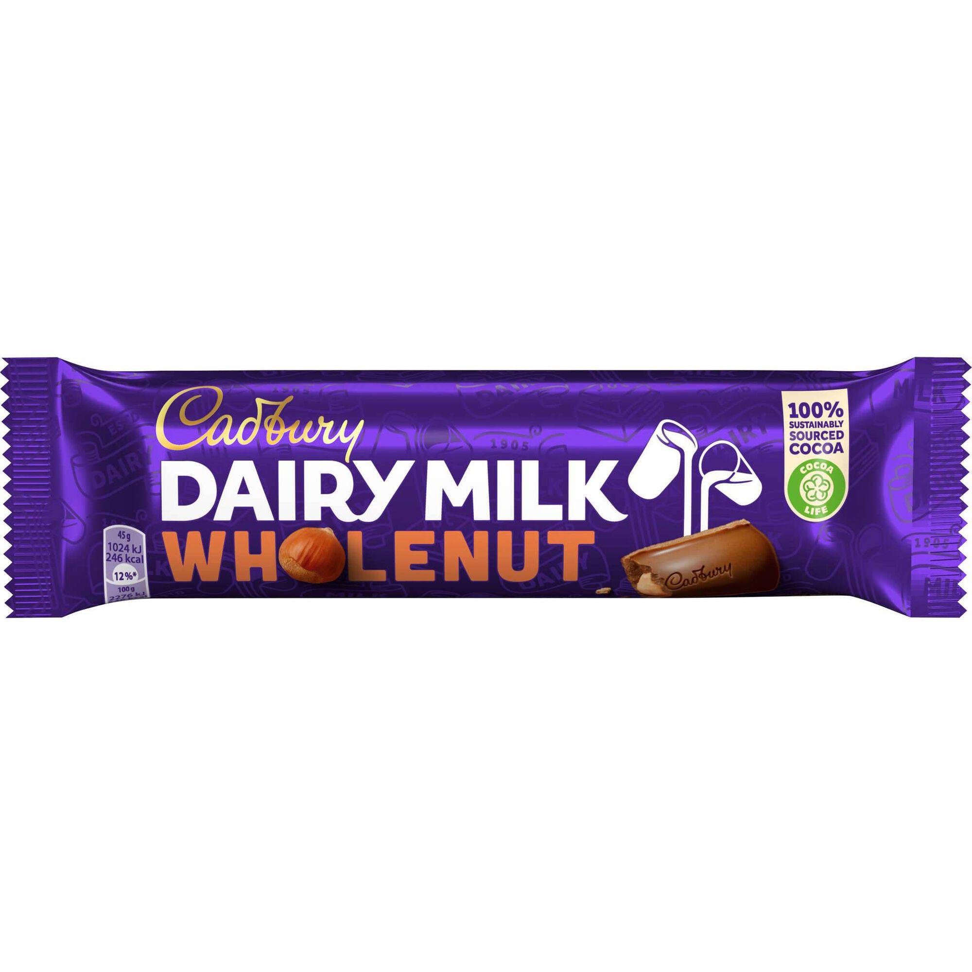 Snack de Chocolate e Avelã Dairy Milk