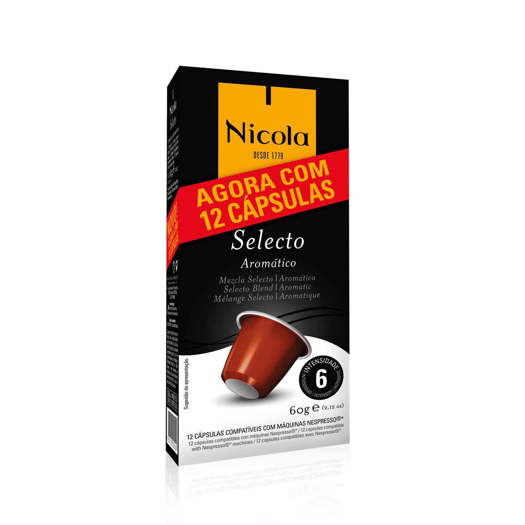 Cápsulas de Café Selecto Compatível com Nespresso Int 6